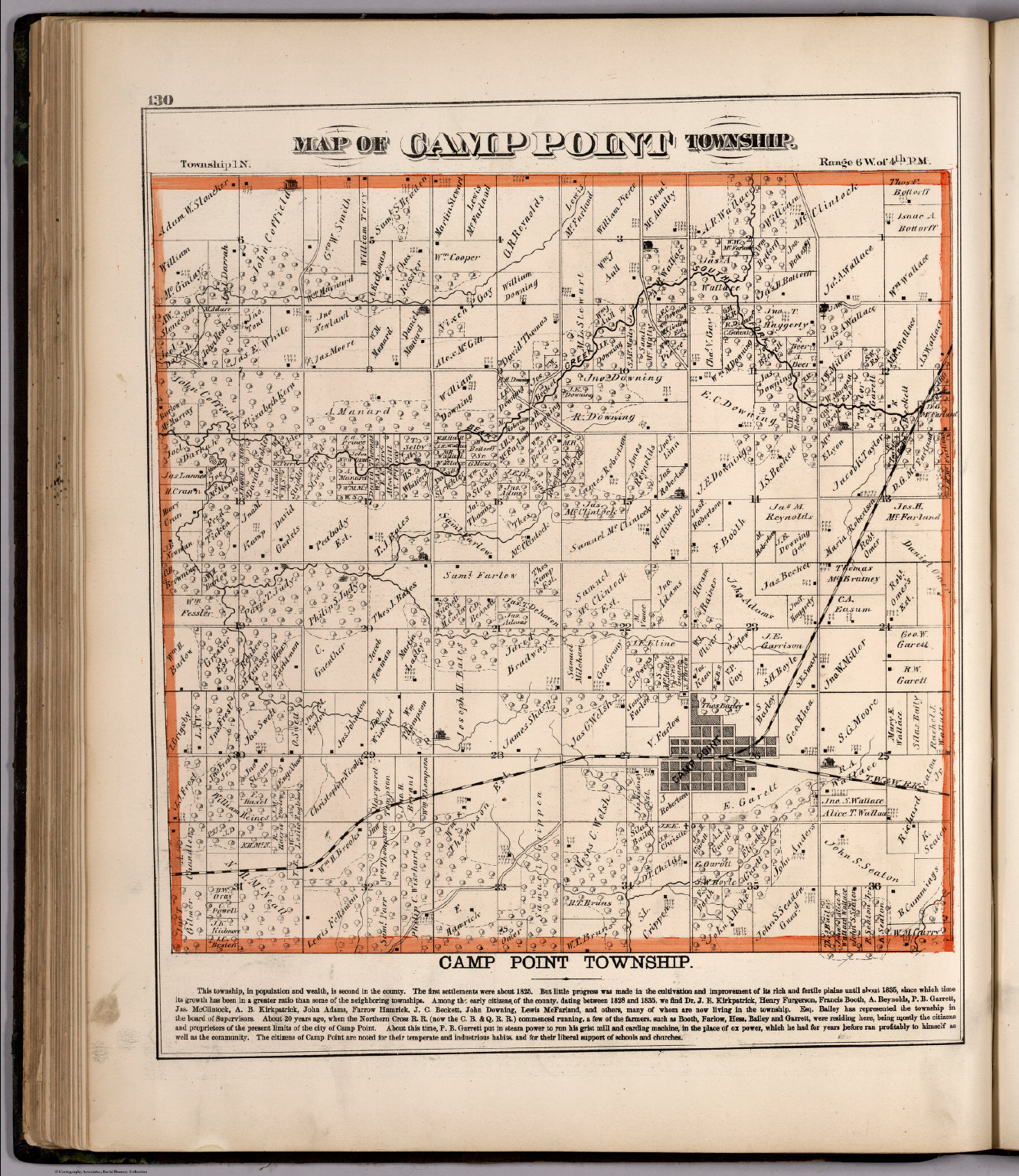 Camp Point Township, Adams County, Illinois.