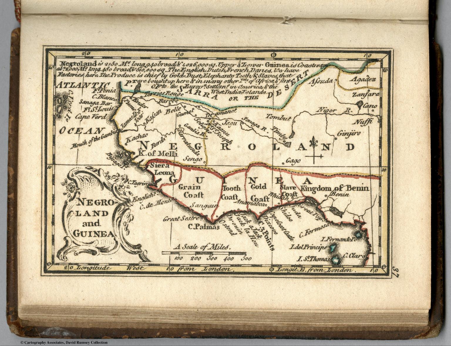 Negro Land In Guinea