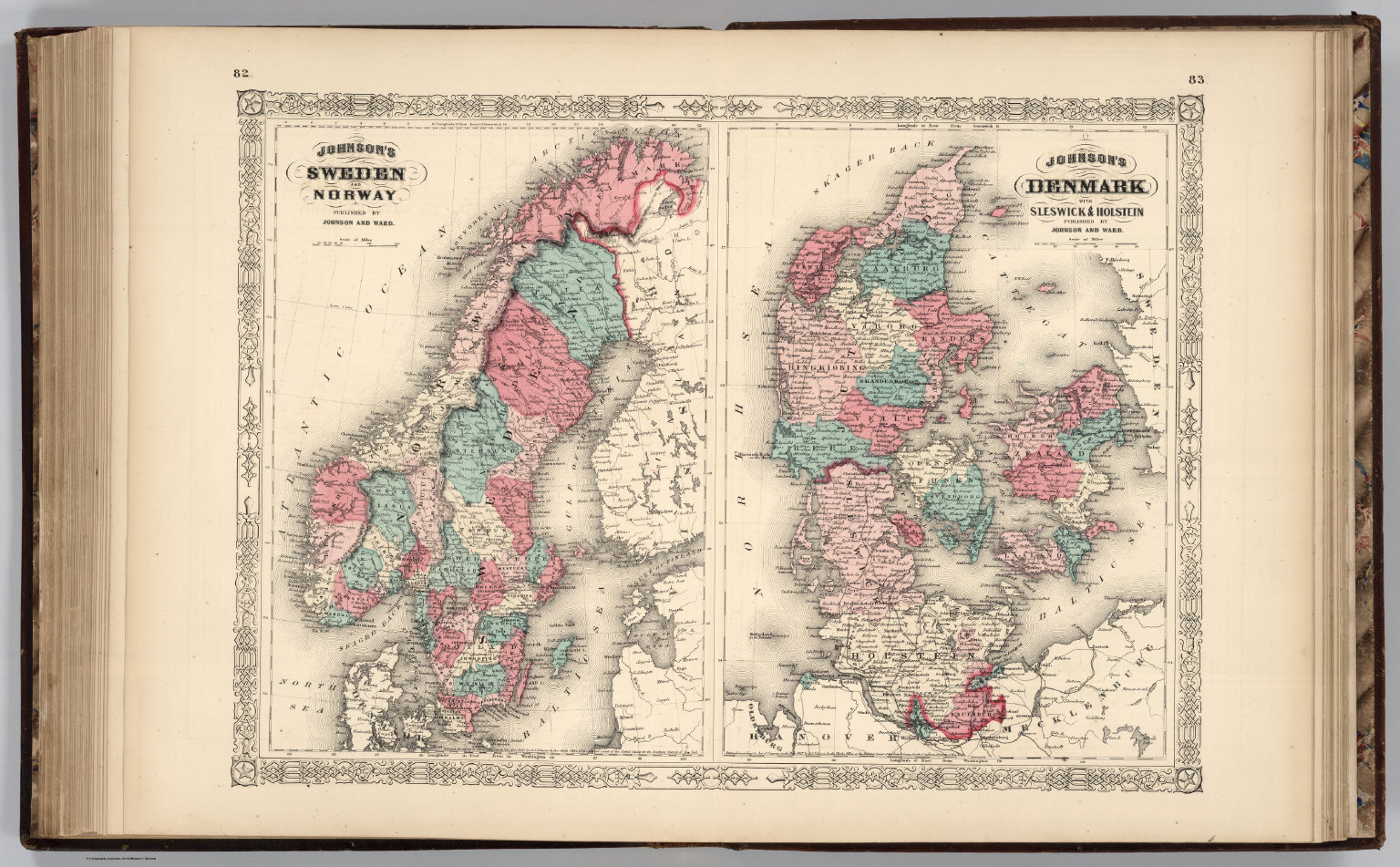 Sweden, Norway, And Denmark.