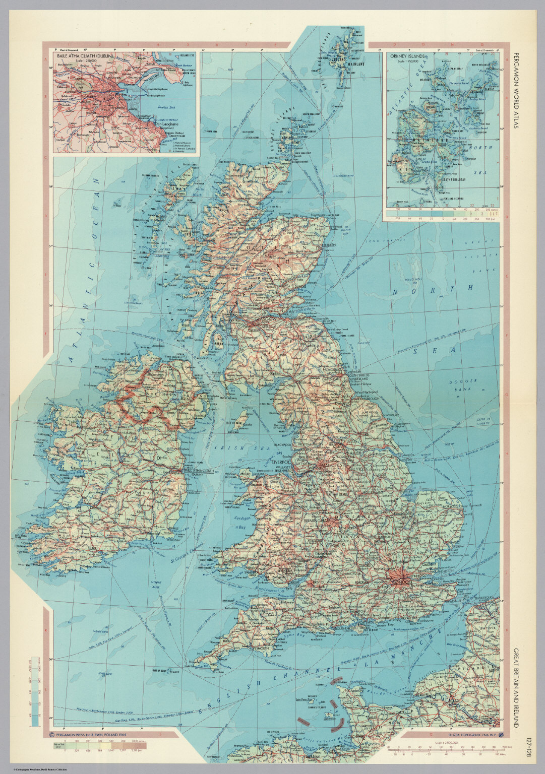 great britain and ireland pergamon world atlas