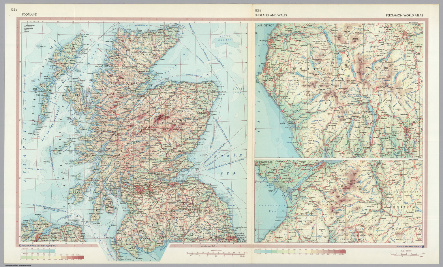 scotland england and wales pergamon world atlas