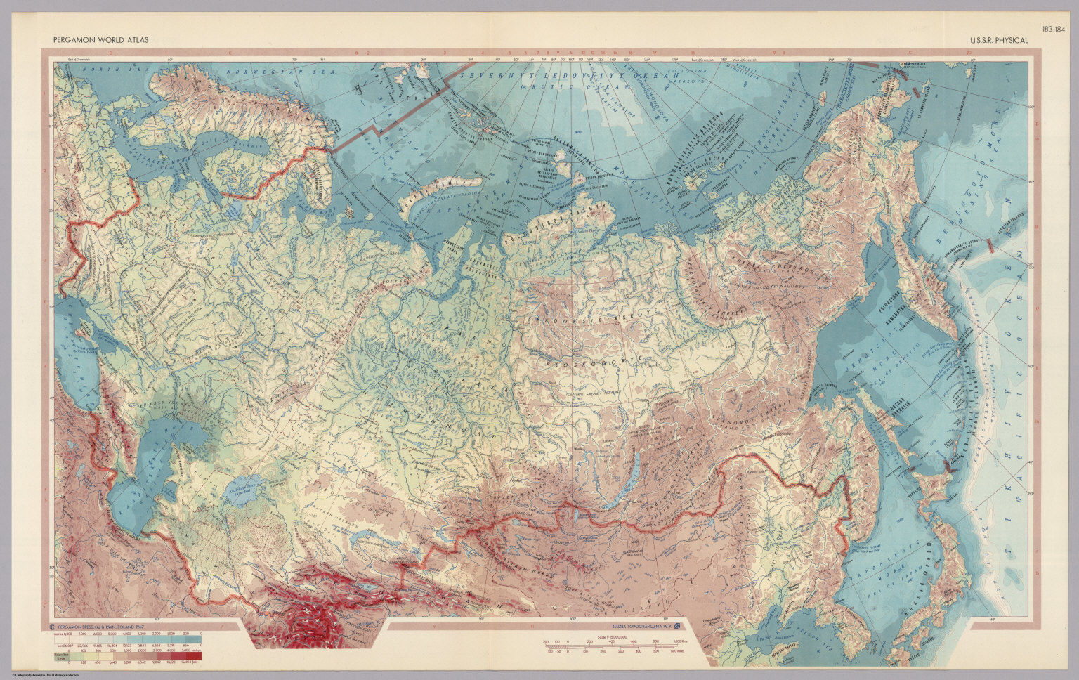 Ussr physical pergamon world atlas david rumsey ussr physical pergamon world atlas gumiabroncs