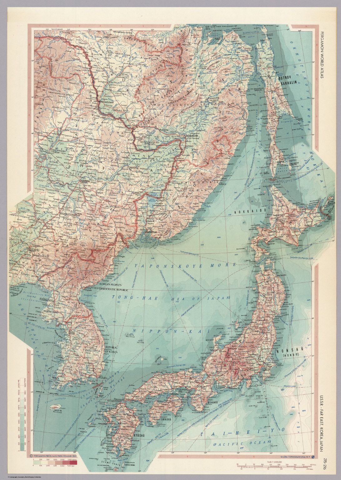 Ussr far east korea japan pergamon world atlas david georeference this map buy print export gumiabroncs Gallery