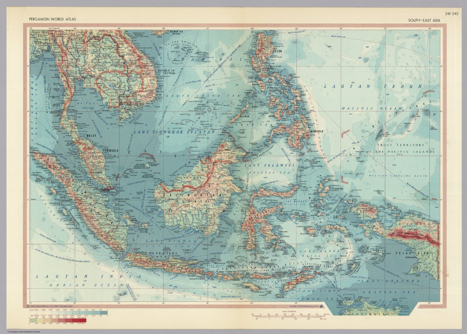 South east asia pergamon world atlas david rumsey historical south east asia pergamon world atlas gumiabroncs Gallery
