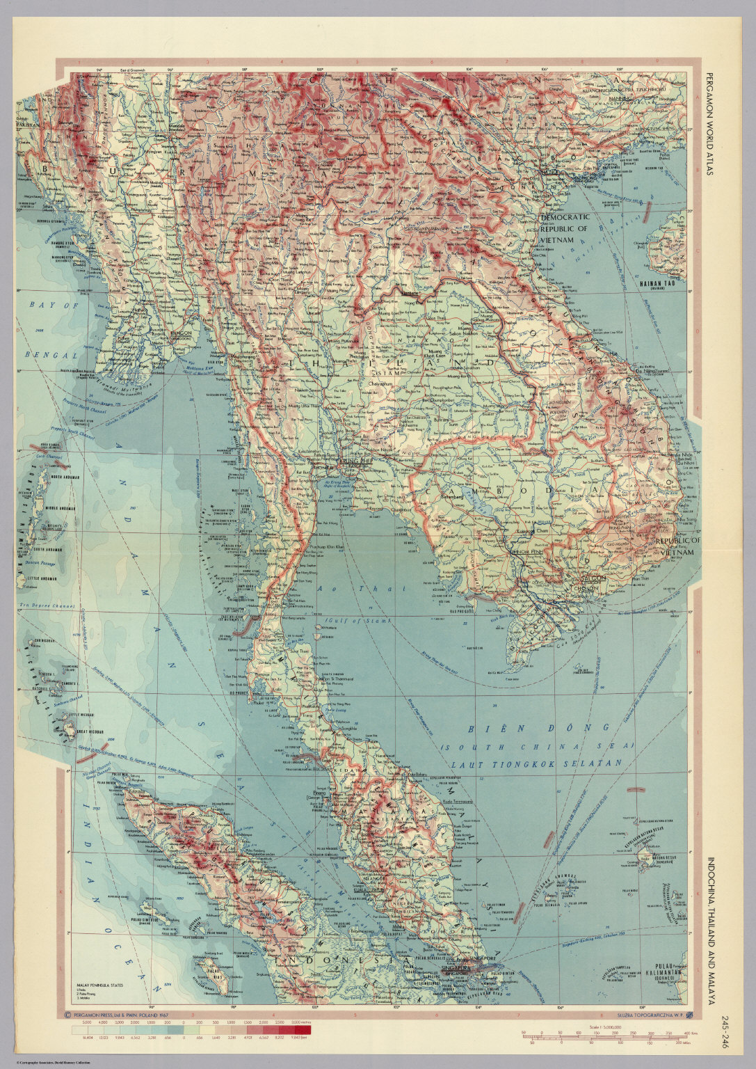 Indonesia thailand and malaya pergamon world atlas david rumsey indonesia thailand and malaya pergamon world atlas david rumsey historical map collection gumiabroncs Gallery