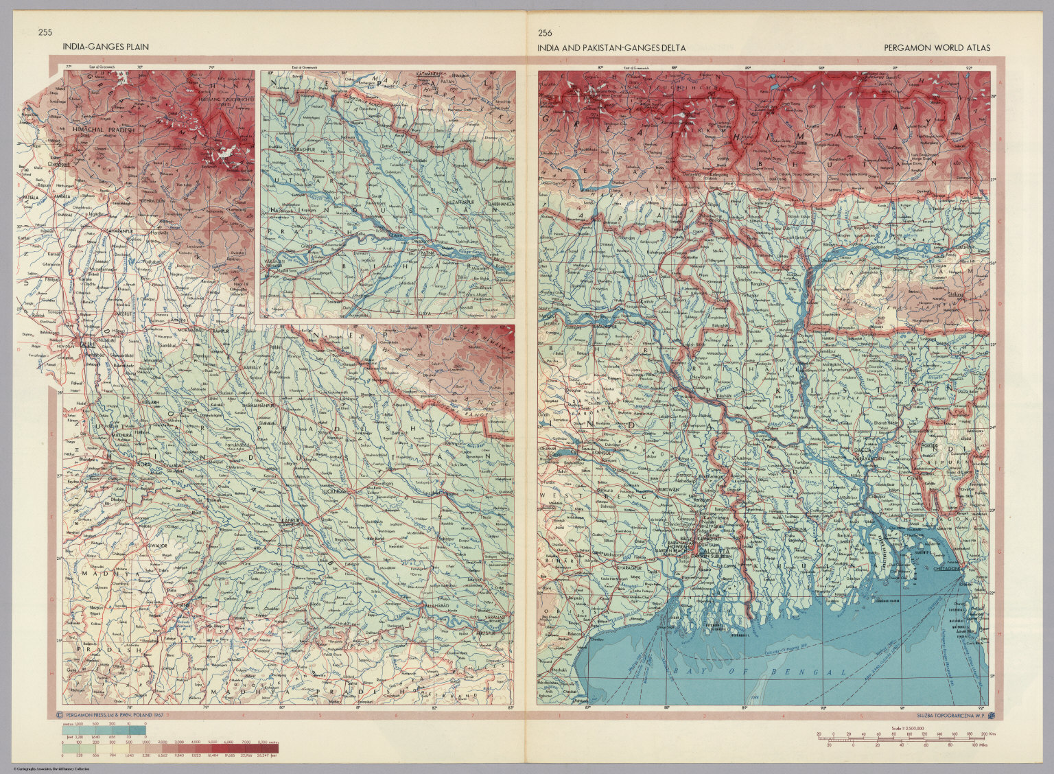 India ganges plain inset continuation of main map india and india ganges plain inset continuation of main map india and pakistan bangladesh gumiabroncs Gallery