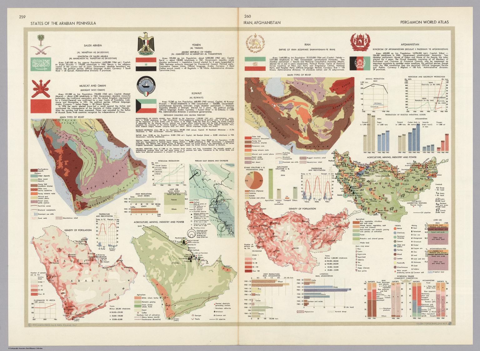 States of the arabian peninsula iran afghanistan pergamon world states of the arabian peninsula iran afghanistan pergamon world atlas gumiabroncs Choice Image
