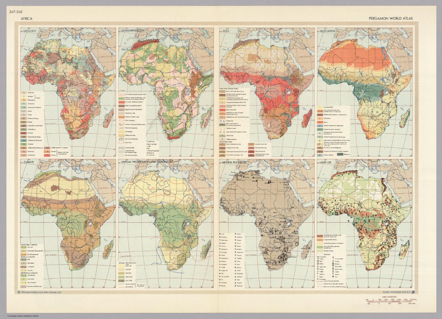 Africa pergamon world atlas david rumsey historical map collection africa pergamon world atlas gumiabroncs Images