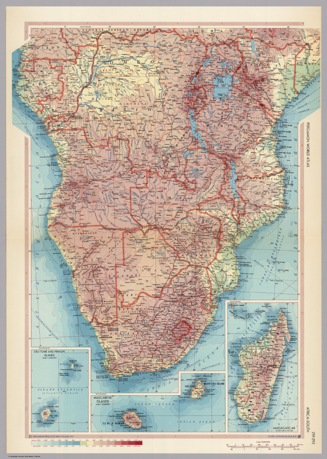 Africa south pergamon world atlas david rumsey historical map pergamon world atlas gumiabroncs Gallery