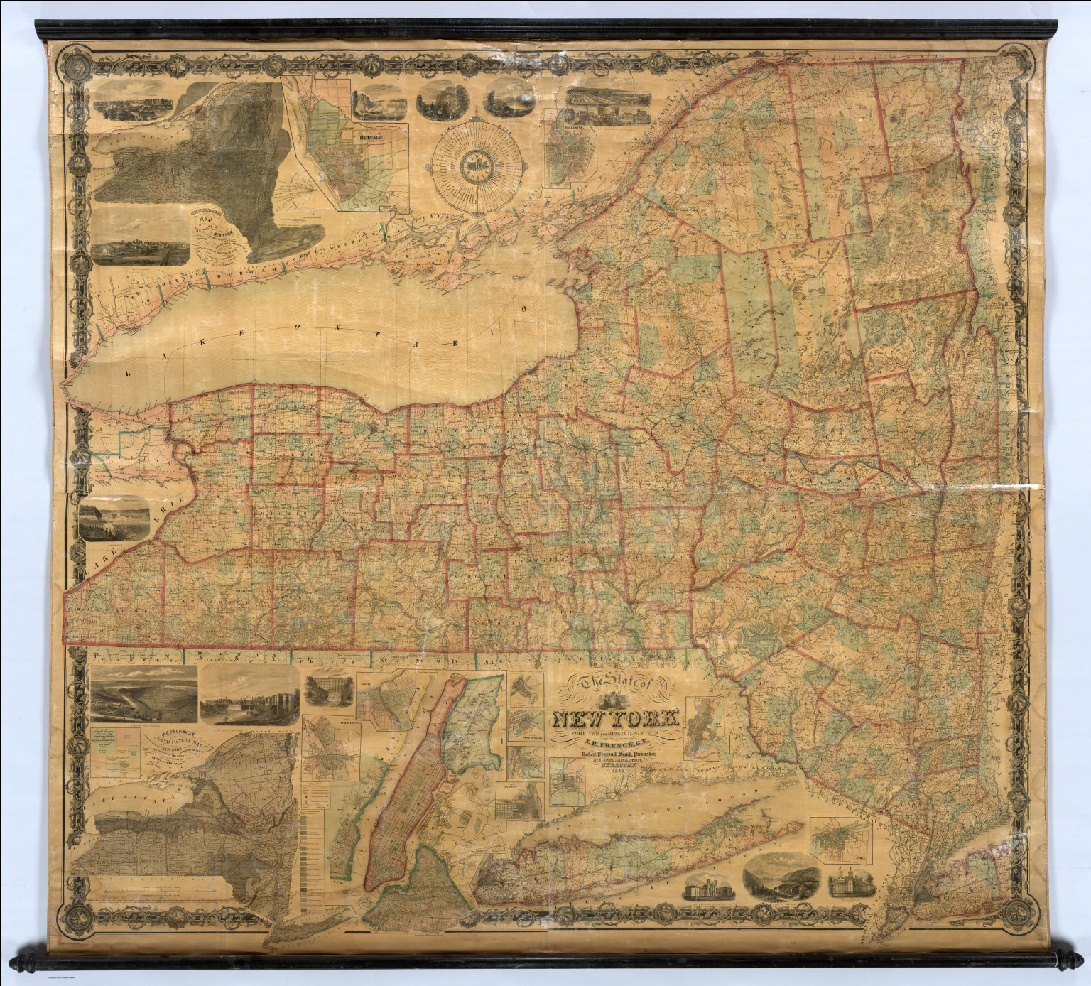 State of New York. - David Rumsey Historical Map Collection