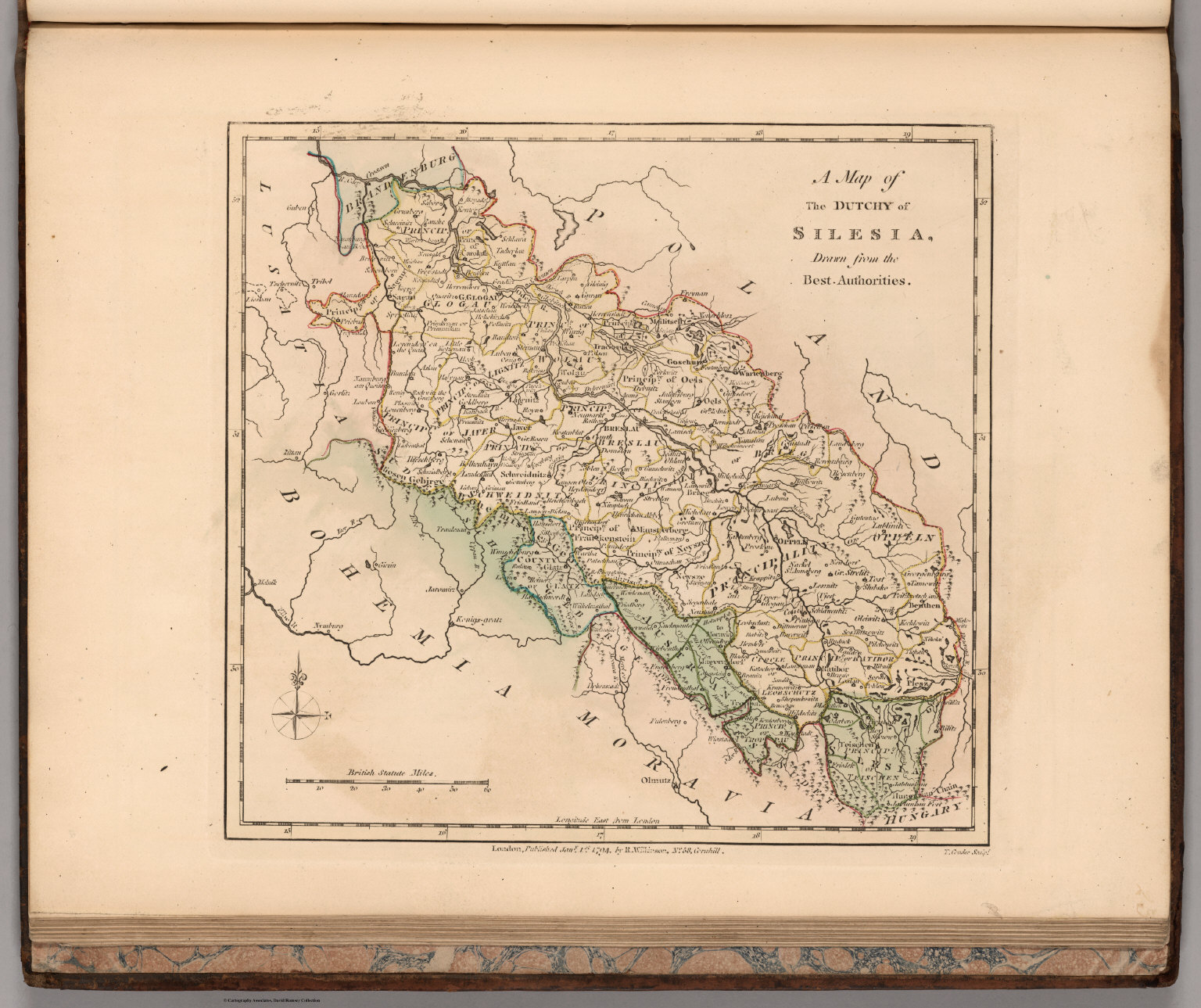Southern Poland Map.Silesia Southern Poland David Rumsey Historical Map Collection