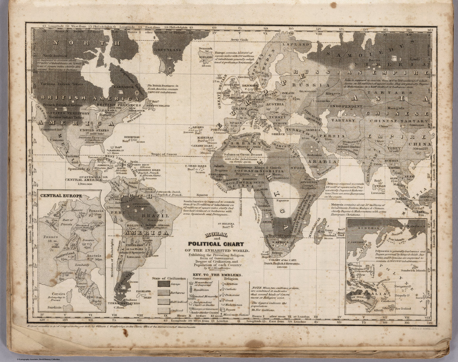 Moral and political chart of the inhabited world david rumsey moral and political chart of the inhabited world gumiabroncs Image collections
