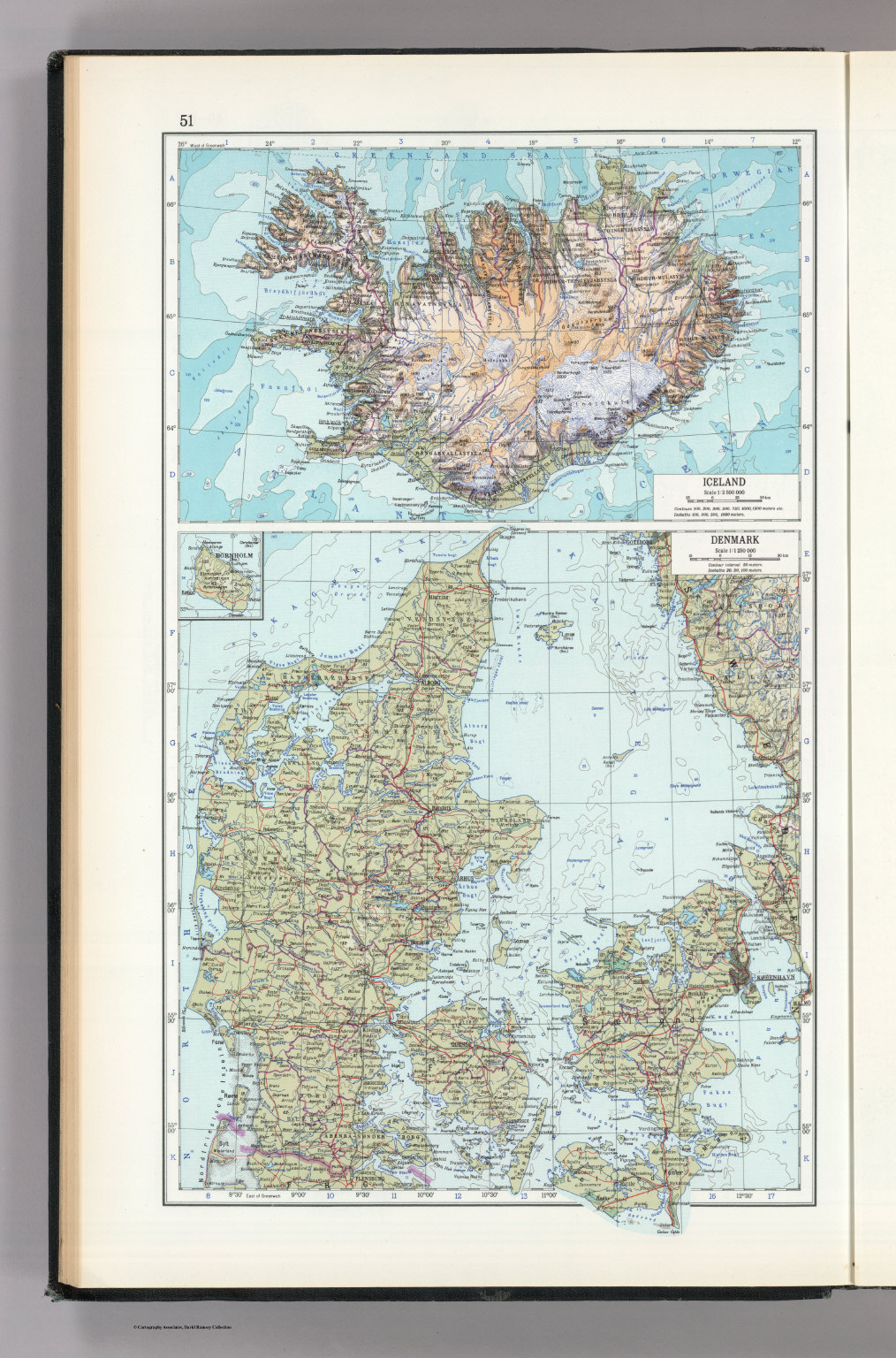 51 iceland denmark the world atlas david rumsey historical map iceland denmark the world atlas gumiabroncs Images