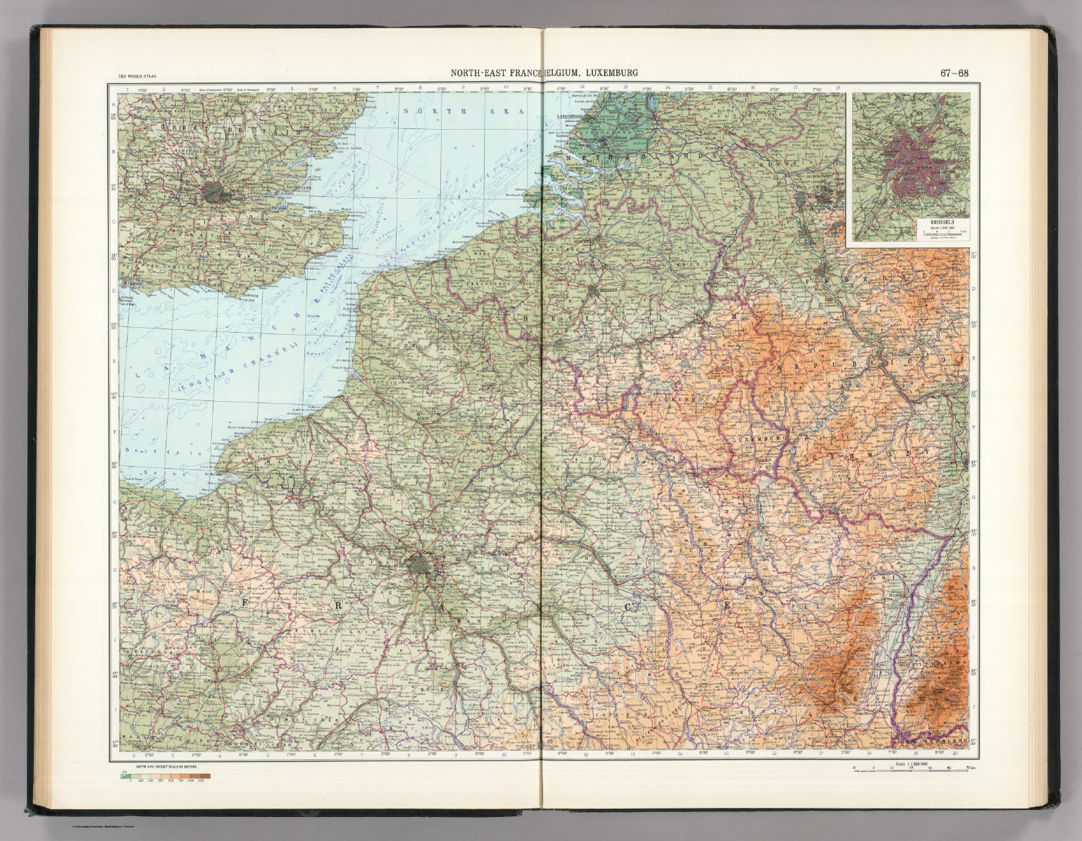 north east france belgium luxemburg the world atlas