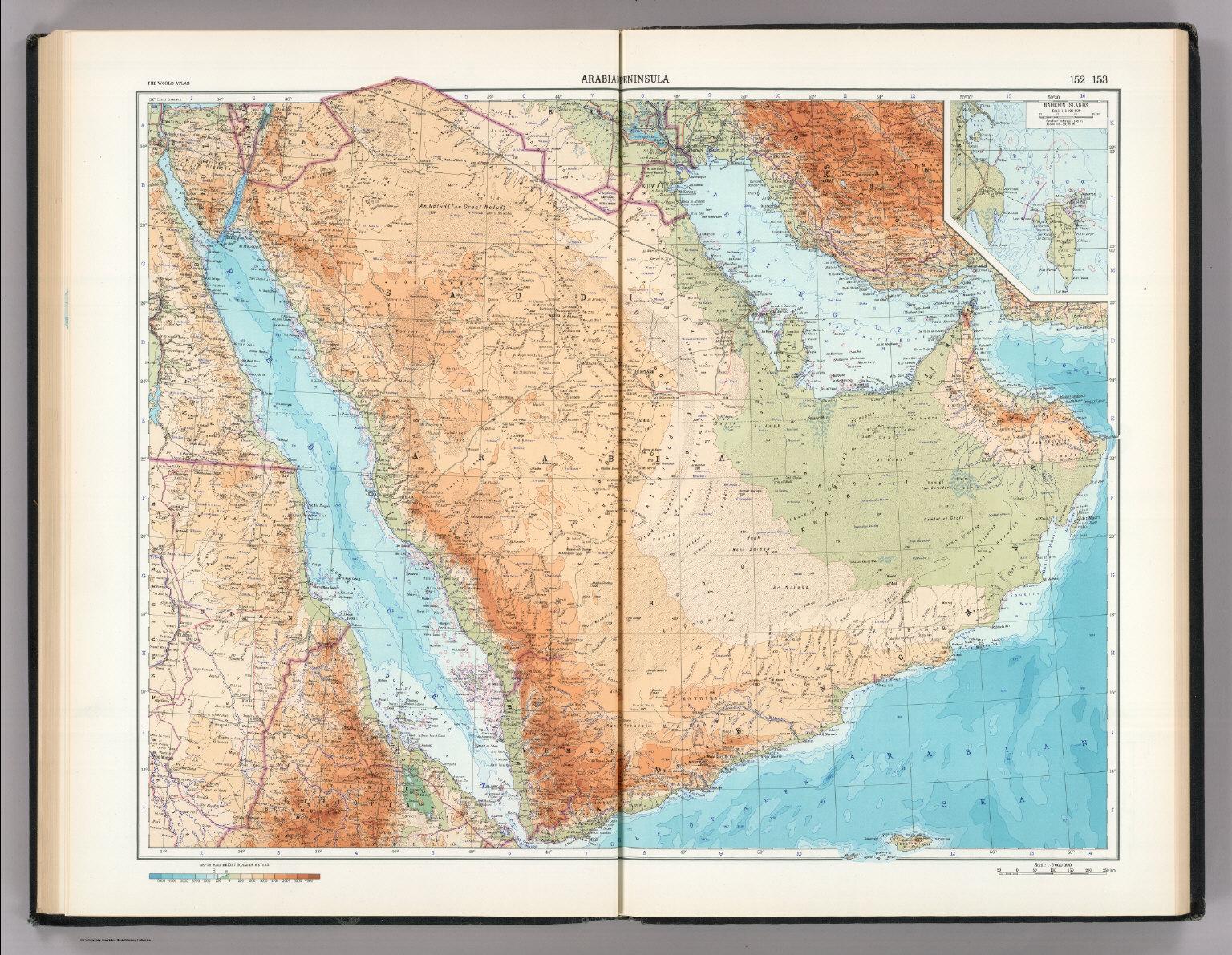 152 153 arabian peninsula bahrein bahrain islands the world 152 153 arabian peninsula bahrein bahrain islands the world atlas gumiabroncs Gallery
