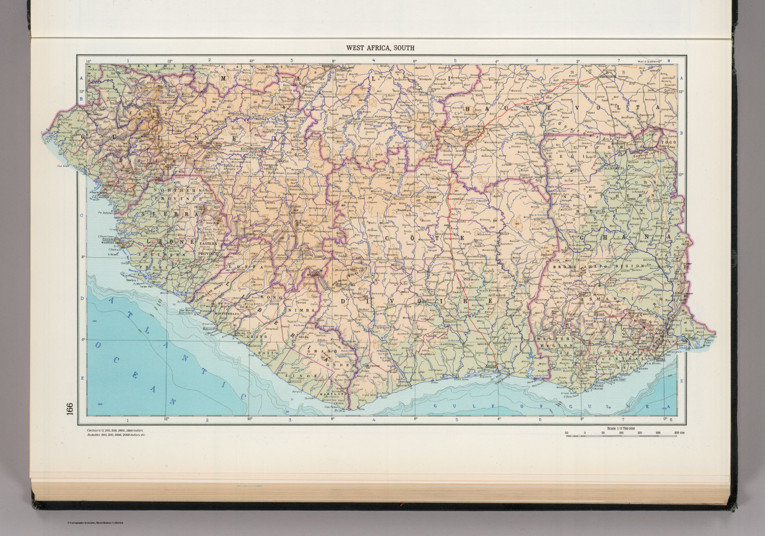 166 west africa south the world atlas david rumsey historical west africa south the world atlas gumiabroncs Choice Image