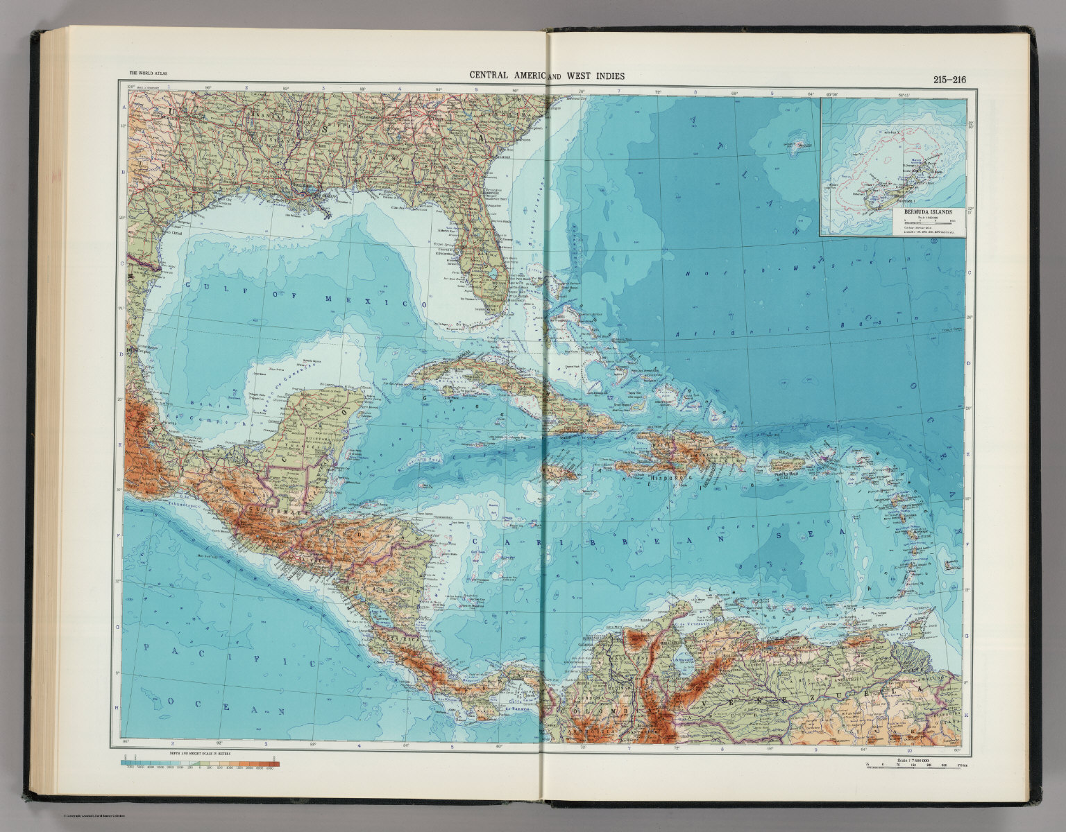 215 216 central america and west indies the world atlas david central america and west indies the world atlas gumiabroncs Image collections