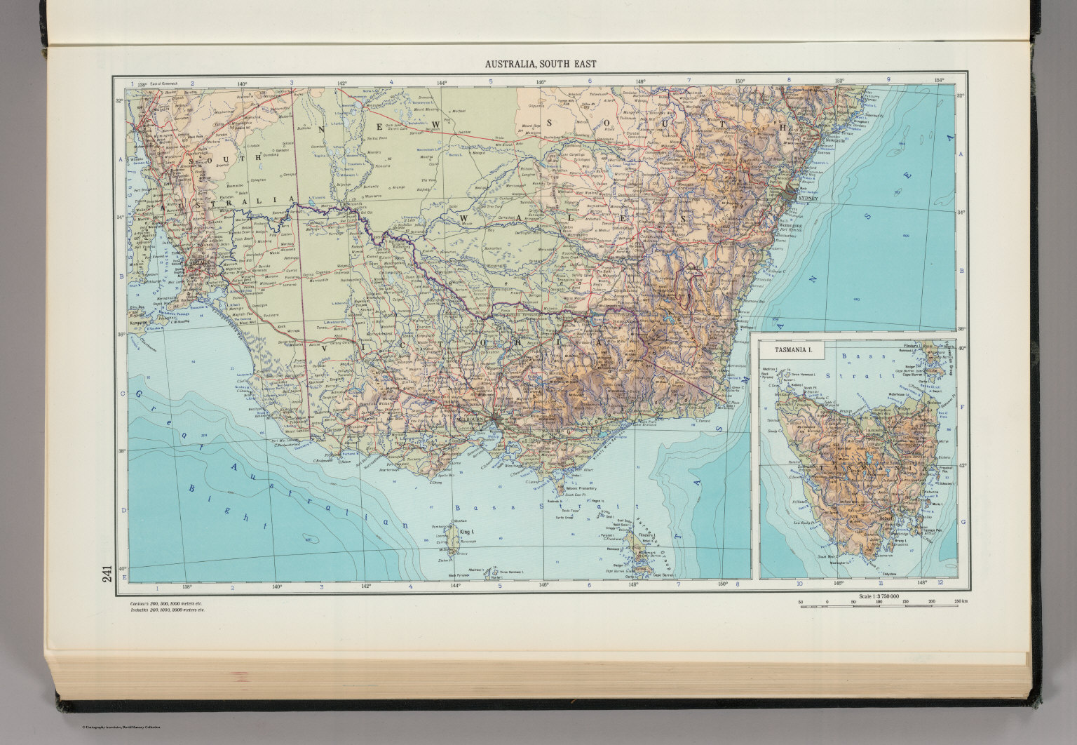 241 australia south east tasmania the world atlas david australia south east tasmania the world atlas gumiabroncs Gallery
