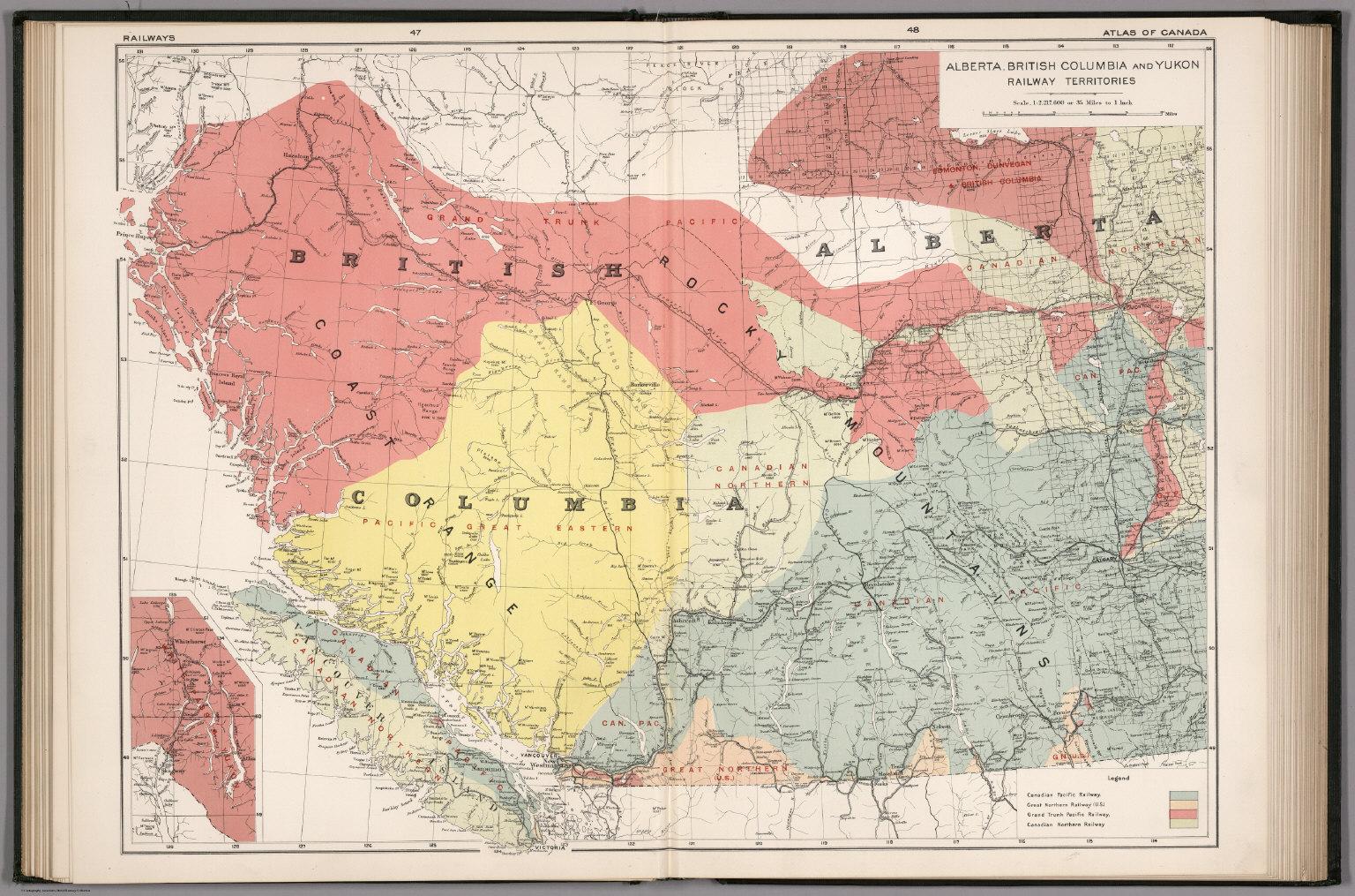 Alberta british columbia and yukon railway territories david alberta british columbia and yukon railway territories gumiabroncs Image collections
