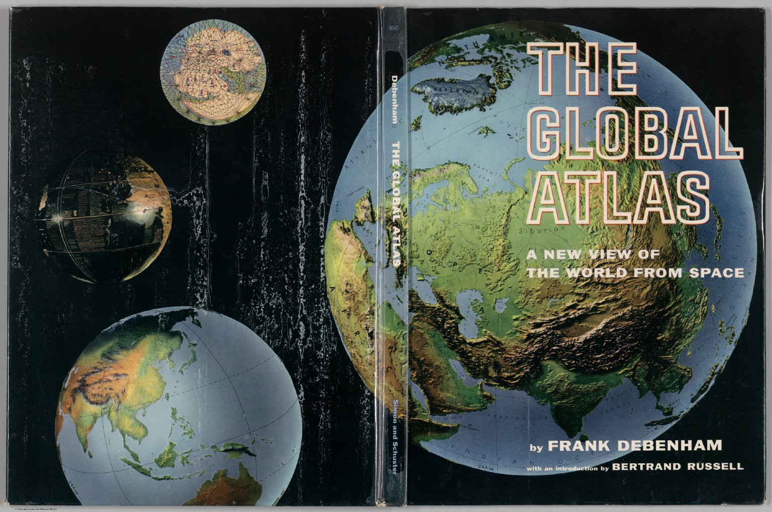 book covers the global atlas a new view of the world from space