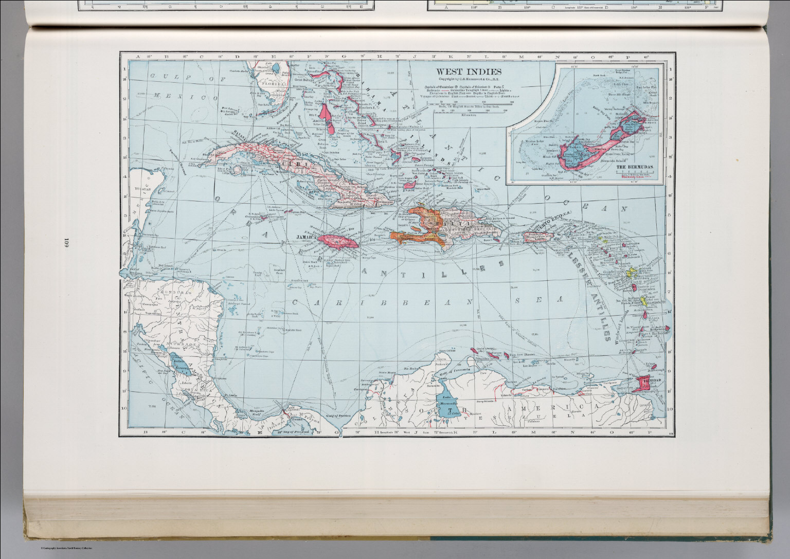 West indies david rumsey historical map collection west indies gumiabroncs Image collections