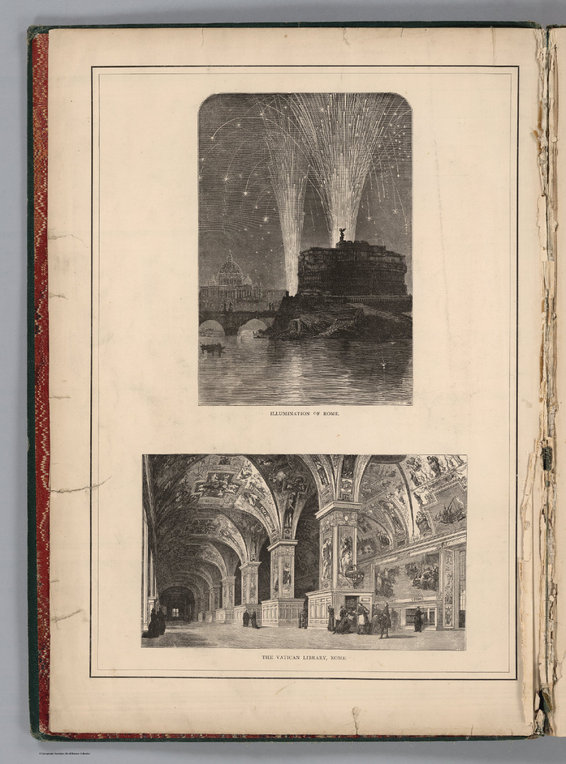Frontispiece #2: Illumination of Rome. The Vatican Library, Rome.