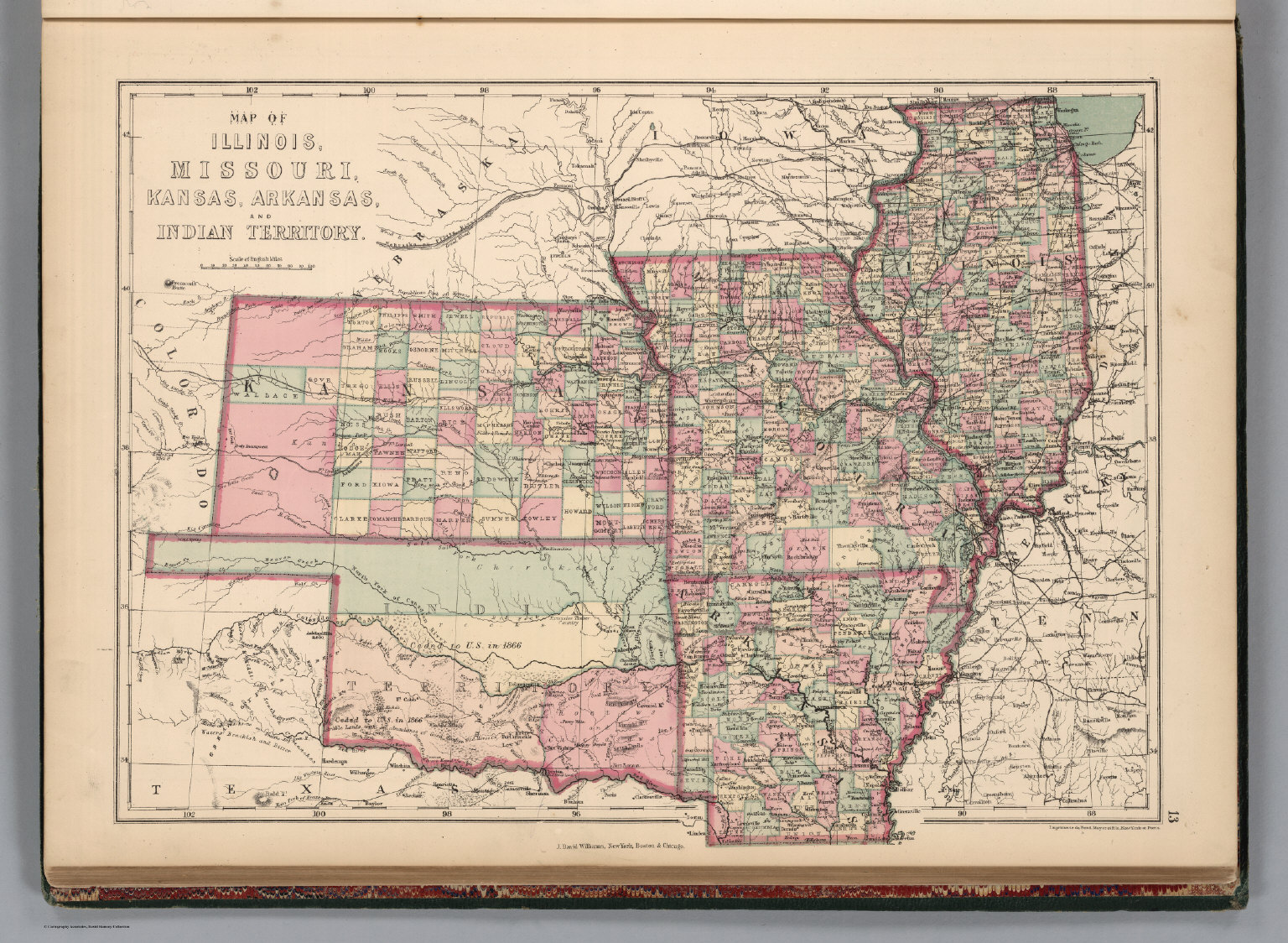 Illinois Missouri Kansas Arkansas and Indian Territory David