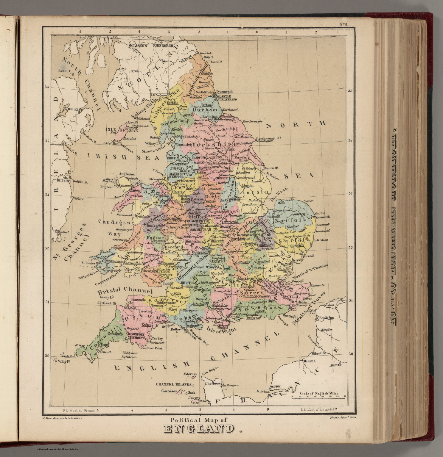 Map Of England Political.Political Map Of England David Rumsey Historical Map Collection