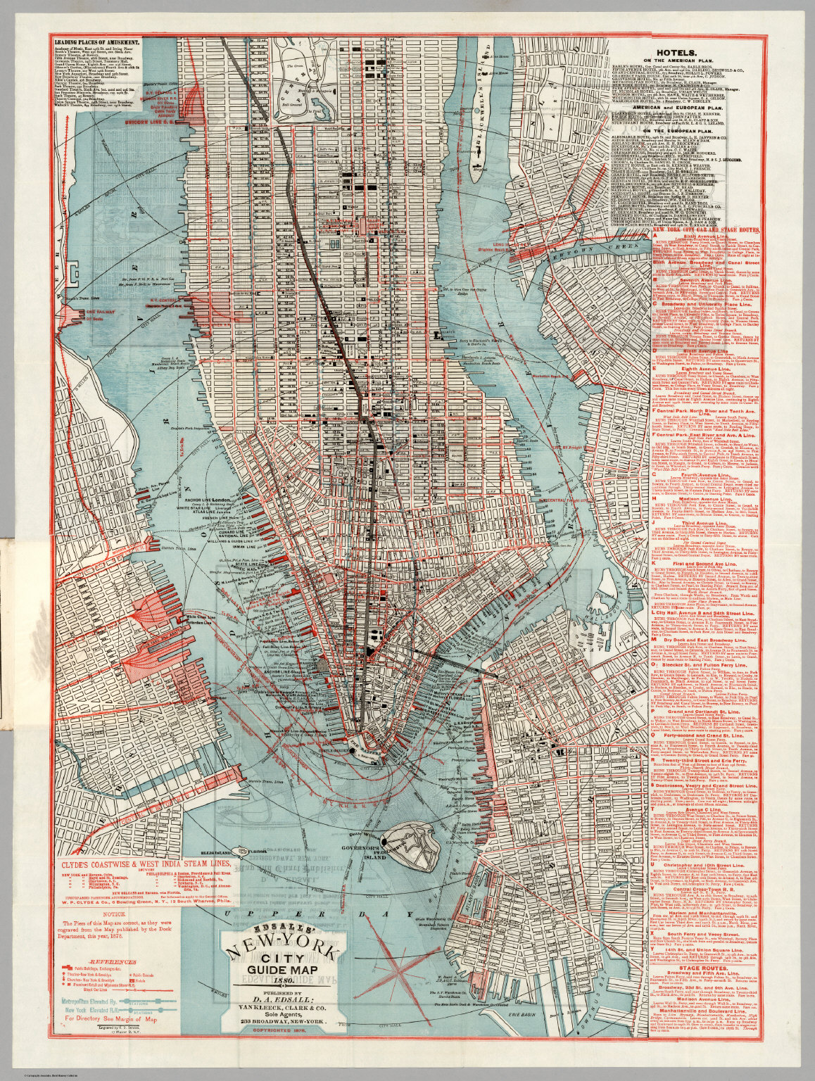 new york city guide map