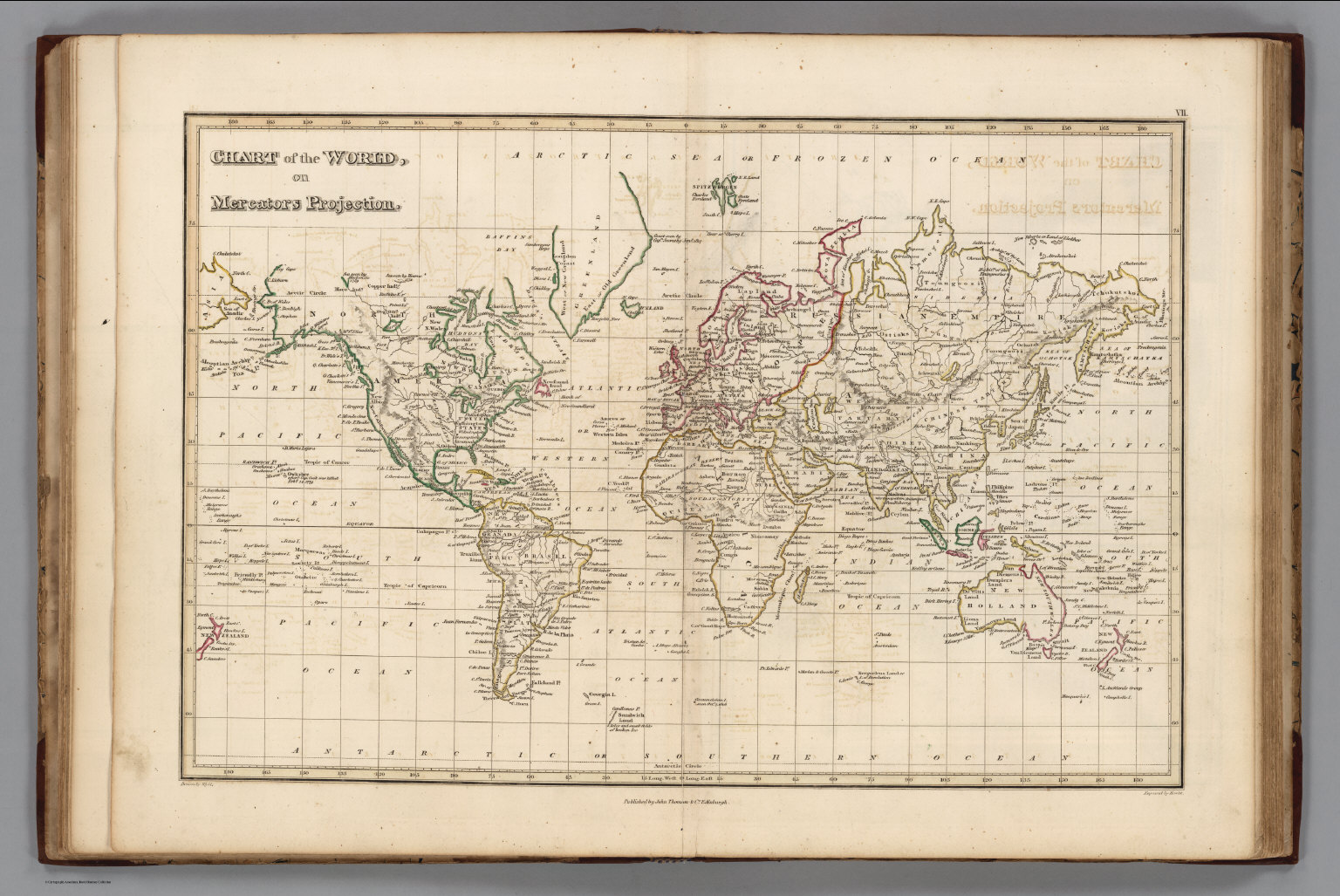 Chart of the world on mercators projection david rumsey chart of the world on mercators projection gumiabroncs Image collections