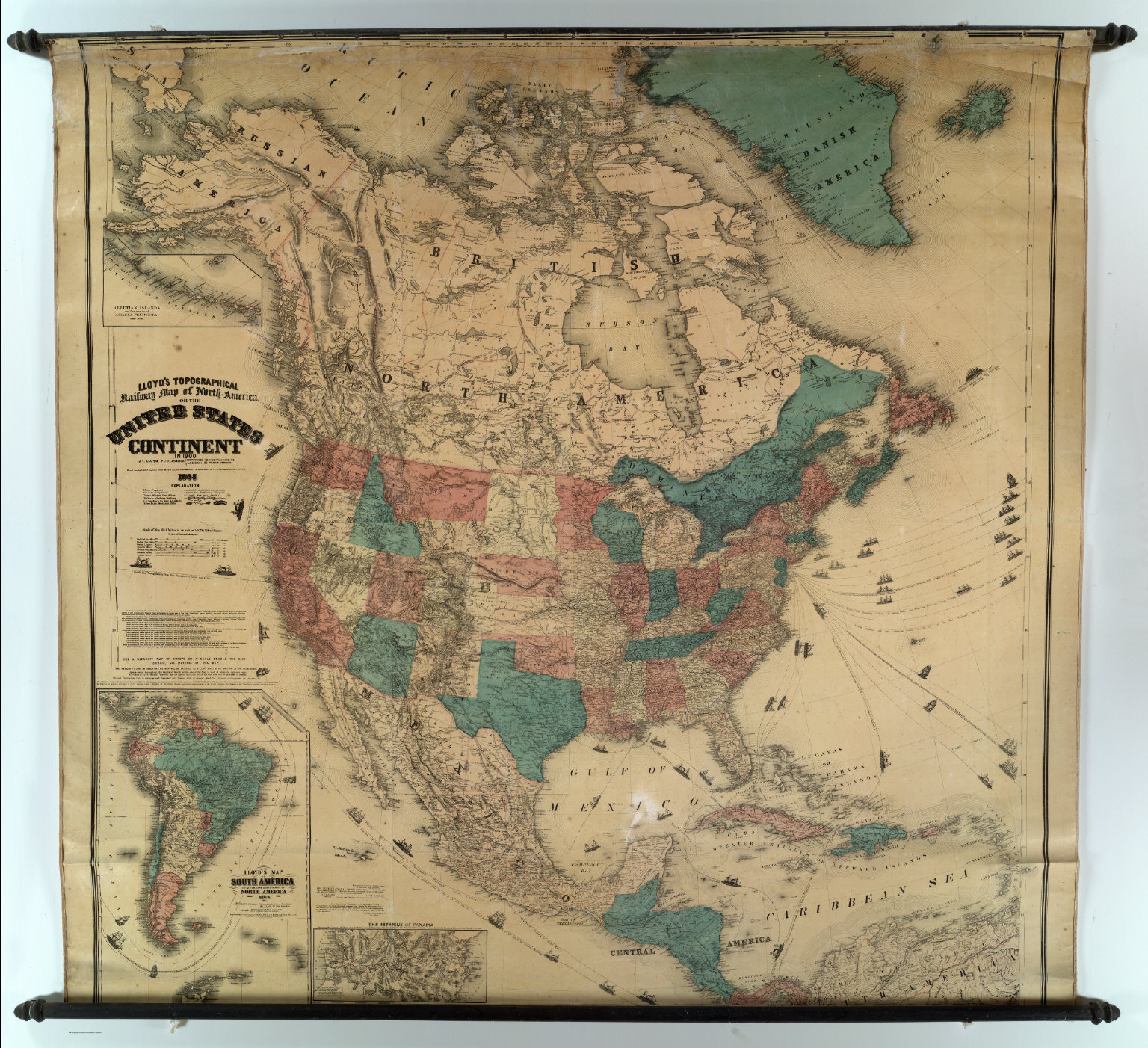 Map Of America 1900.Map Of North America David Rumsey Historical Map Collection