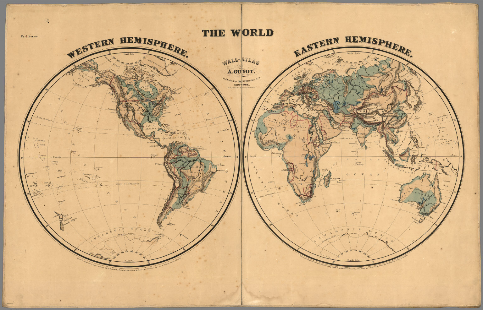 The world western hemisphere eastern hemisphere david rumsey the world western hemisphere eastern hemisphere david rumsey historical map collection gumiabroncs Image collections