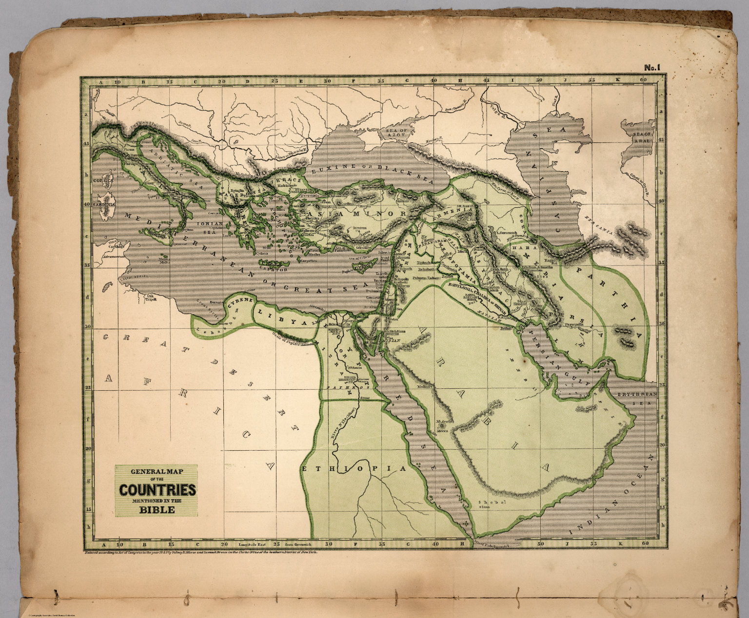 No 1 general map of the countries mentioned in the bible david 1 general map of the countries mentioned in the bible gumiabroncs Image collections