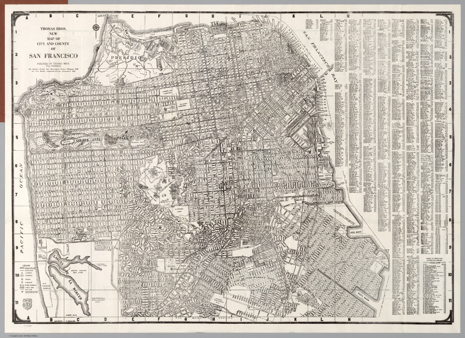 City And County Of San Francisco David Rumsey Historical Map