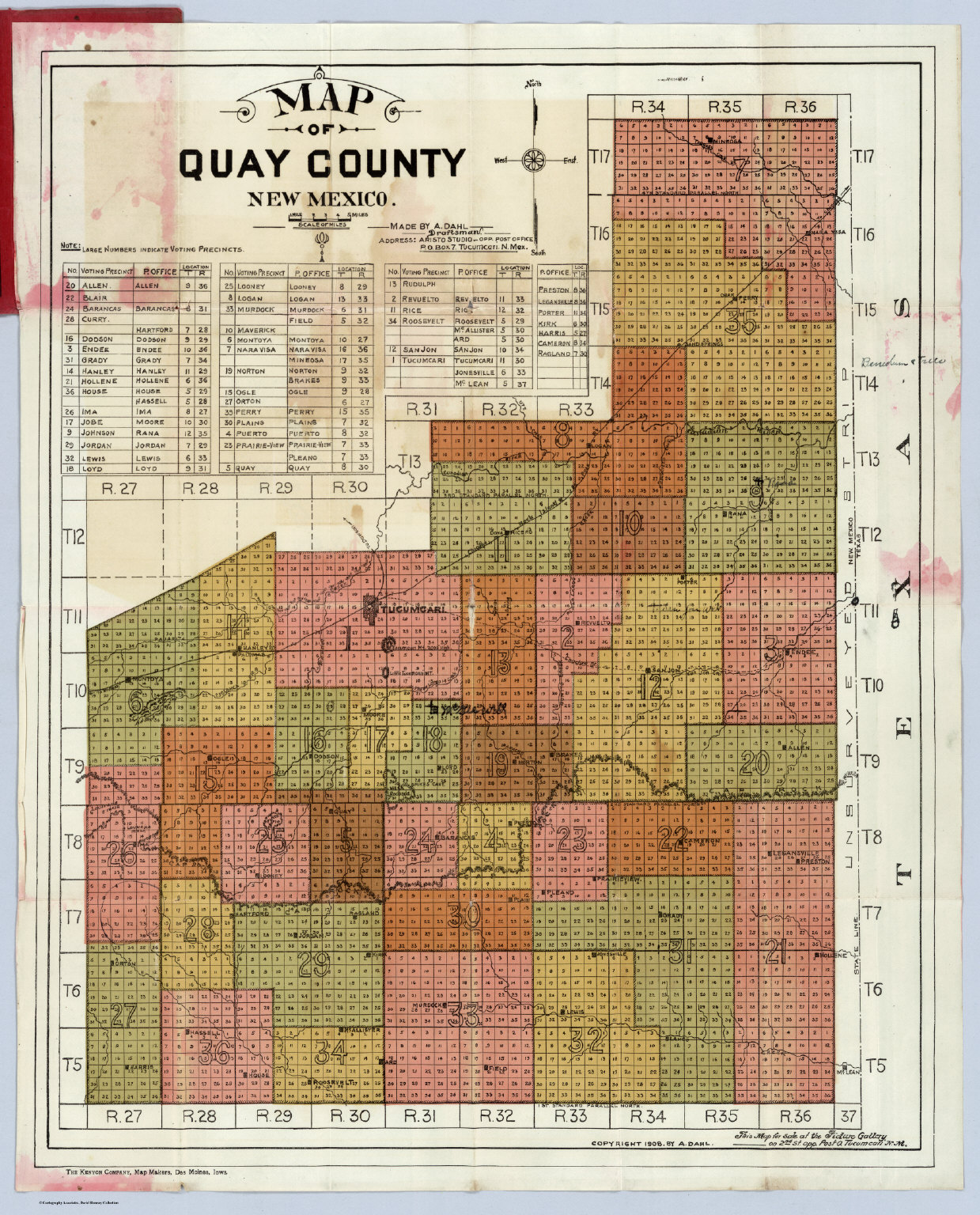 Quay County New Mexico David Rumsey Historical Map Collection