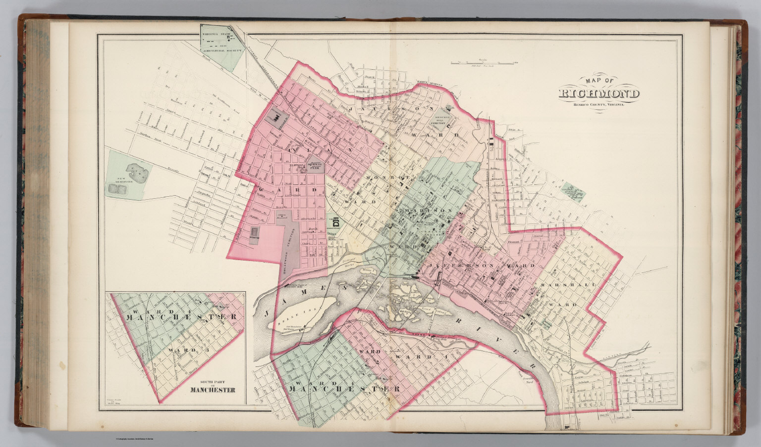 Richmond, Virginia. - David Rumsey Historical Map Collection