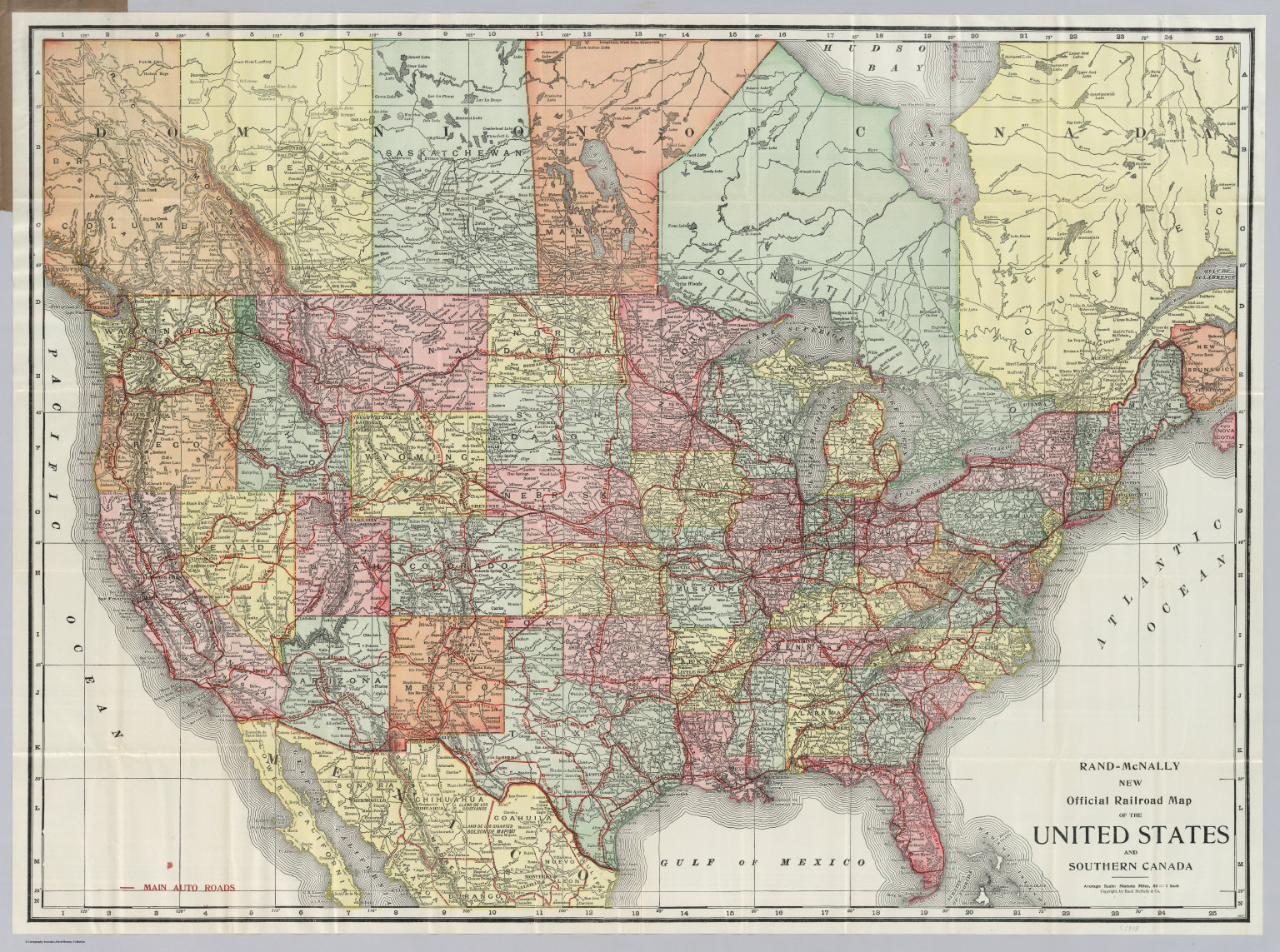 United States and Southern Canada - David Rumsey Historical Map ...