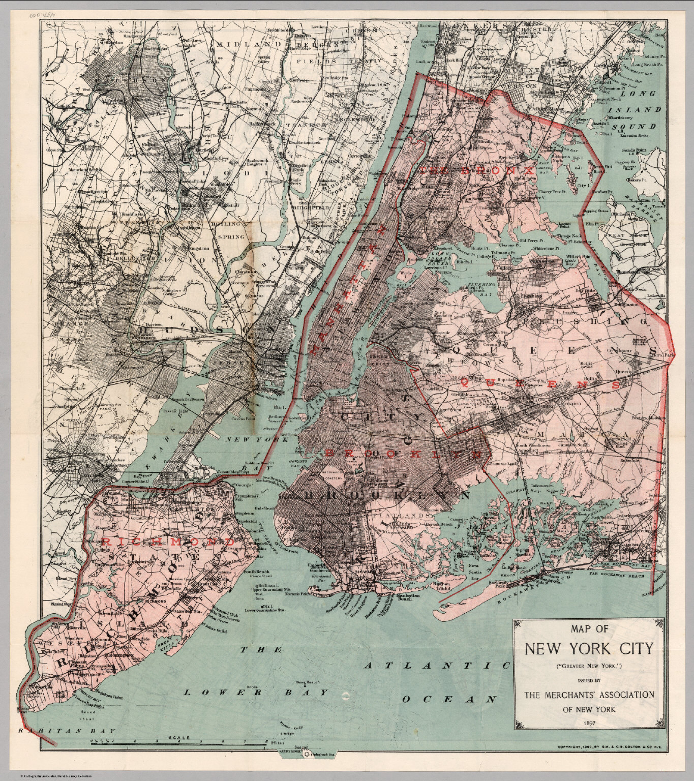 New York City Environs David Rumsey Historical Map Collection