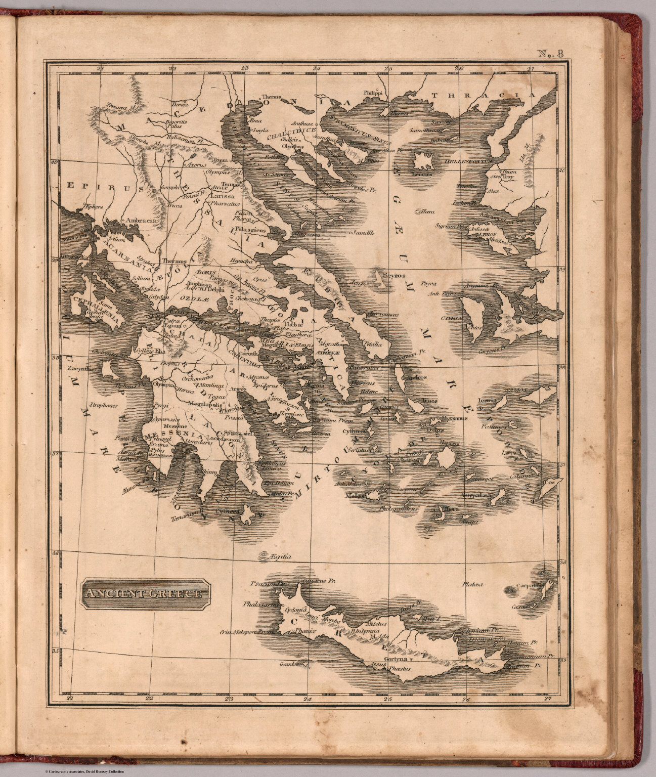 Ancient Greece David Rumsey Historical Map Collection