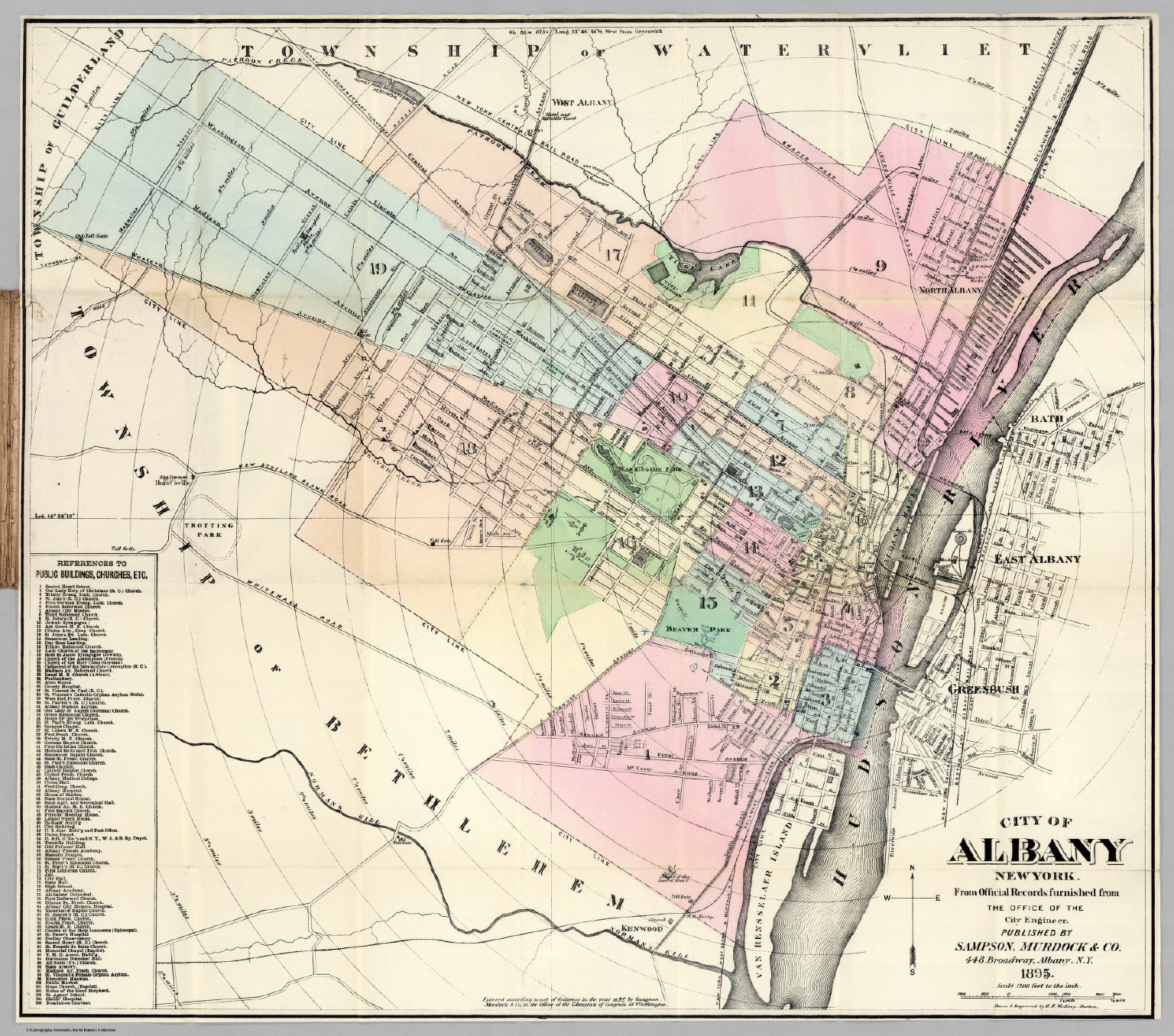 Albany New York - David Rumsey Historical Map Collection