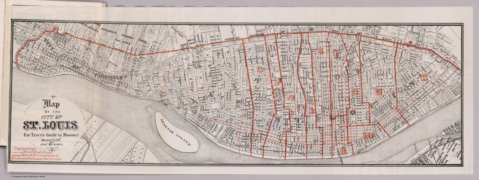 Missouri And St. Louis - David Rumsey Historical Map Collection