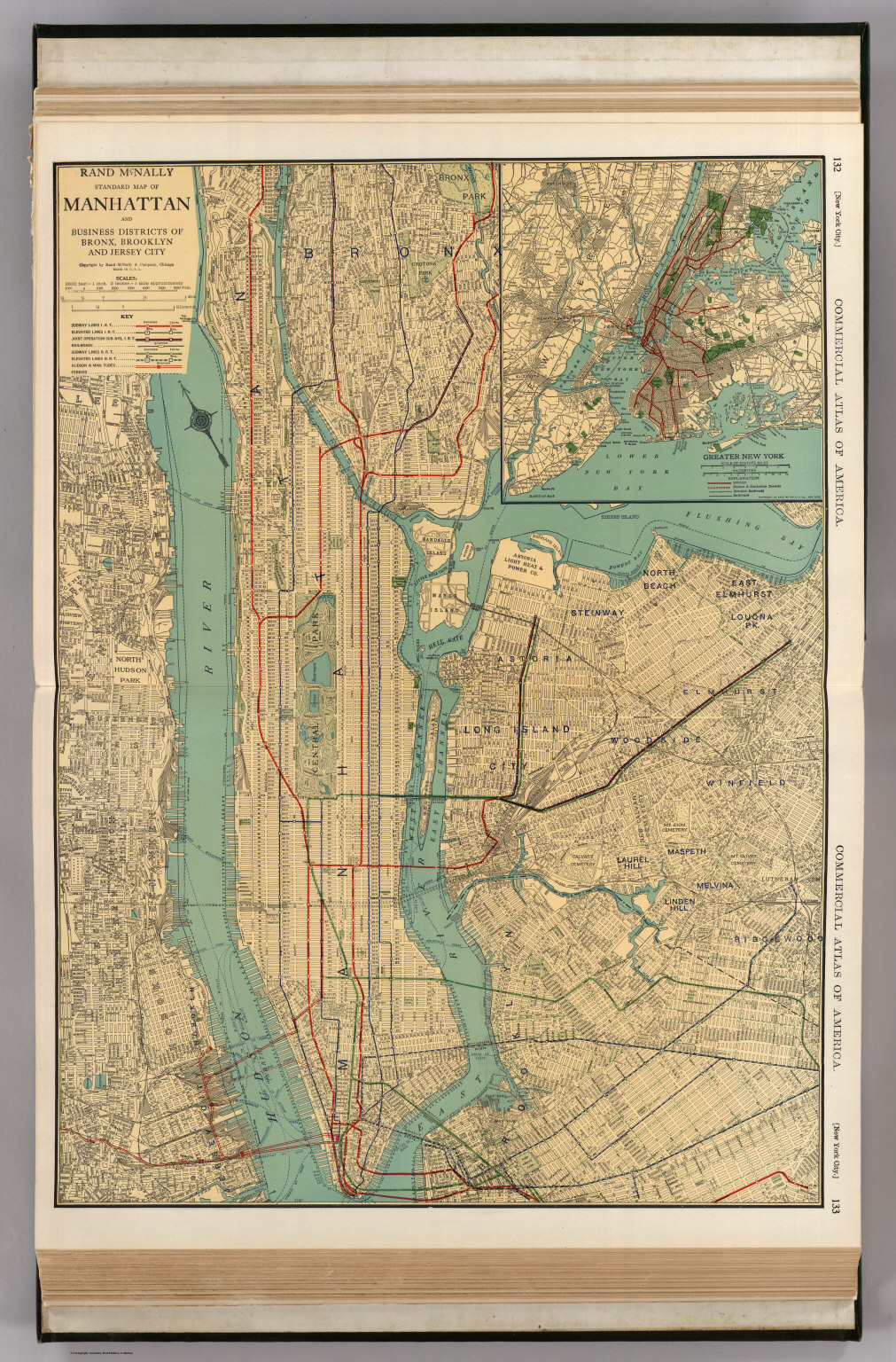 Map Of Greater New York City.New York City David Rumsey Historical Map Collection