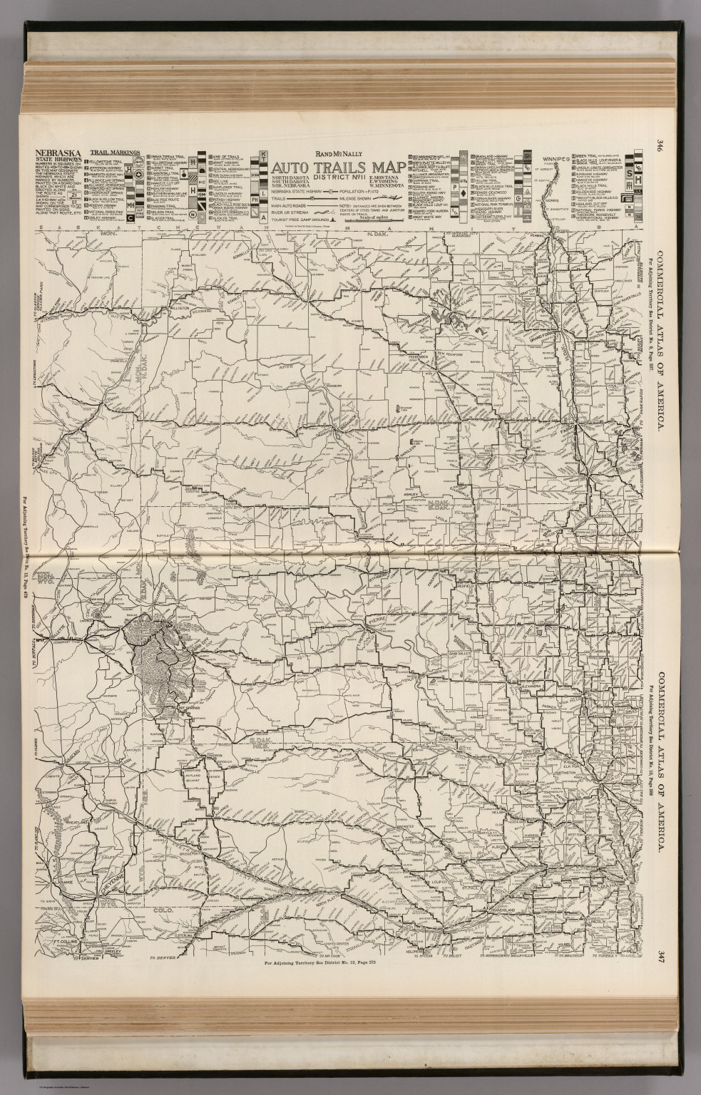 AutoTrails Map, North Dakota, South Dakota, Northern Nebraska ...