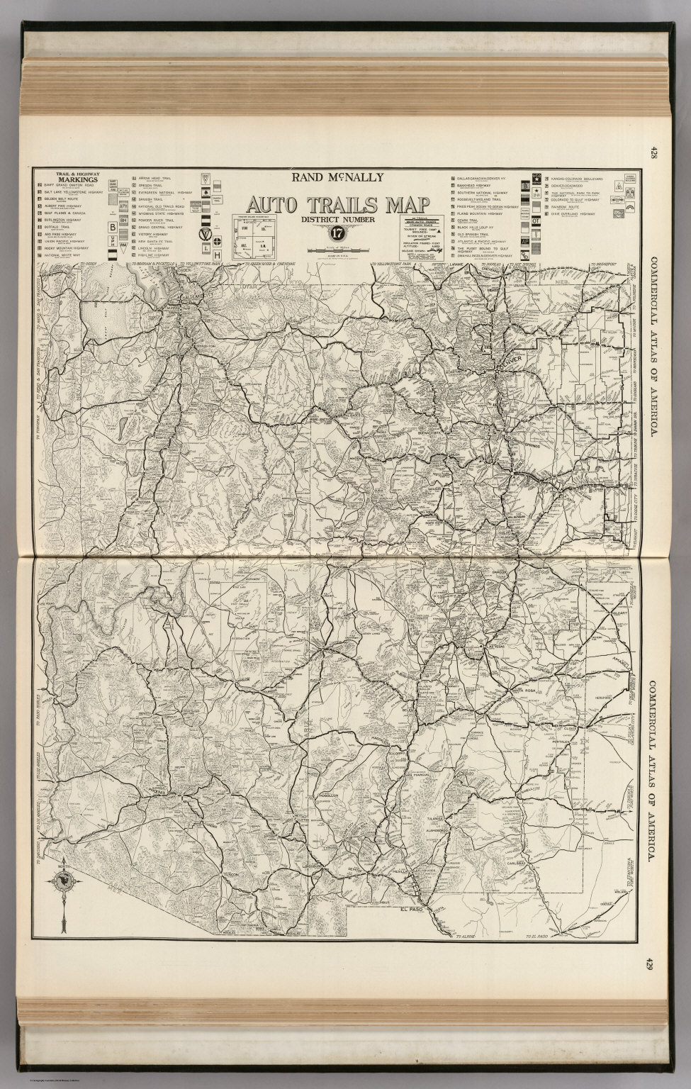 AutoTrails Map, Utah, Colorado, New Mexico, Arizona.