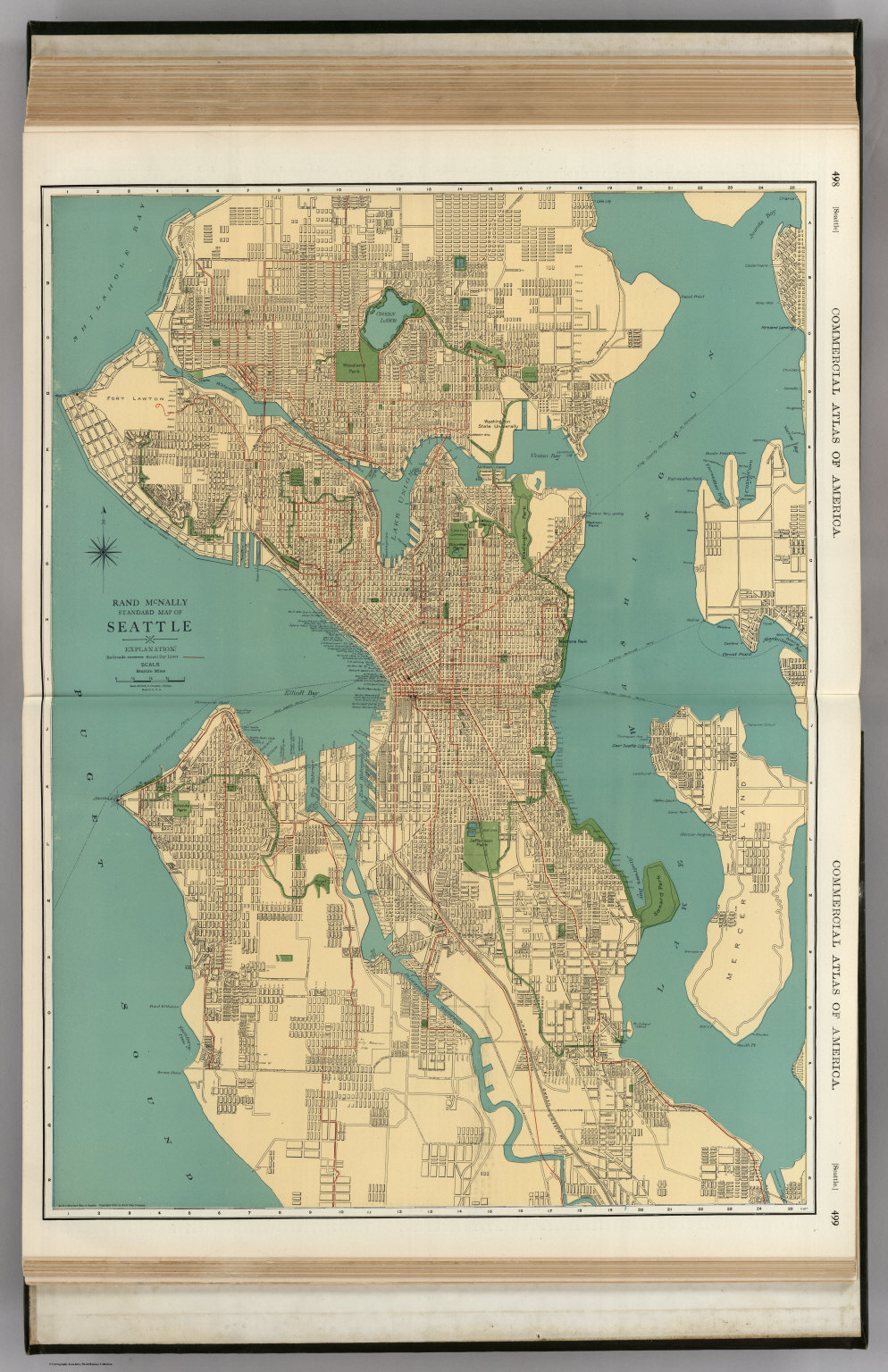 Seattle David Rumsey Historical Map Collection