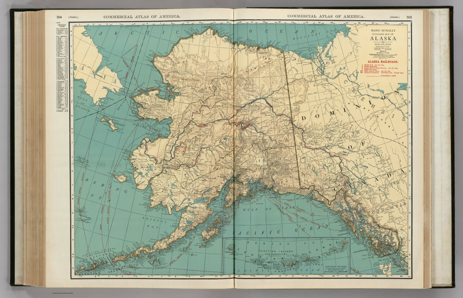 Alaska David Rumsey Historical Map Collection