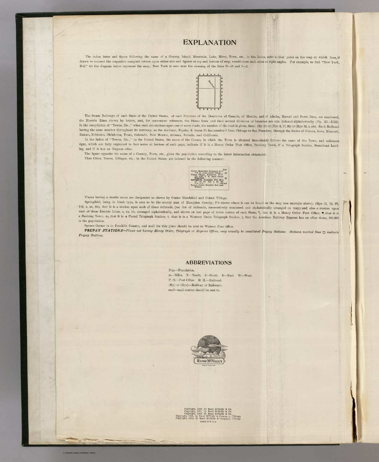 title page verso rand mcnally commercial atlas of america