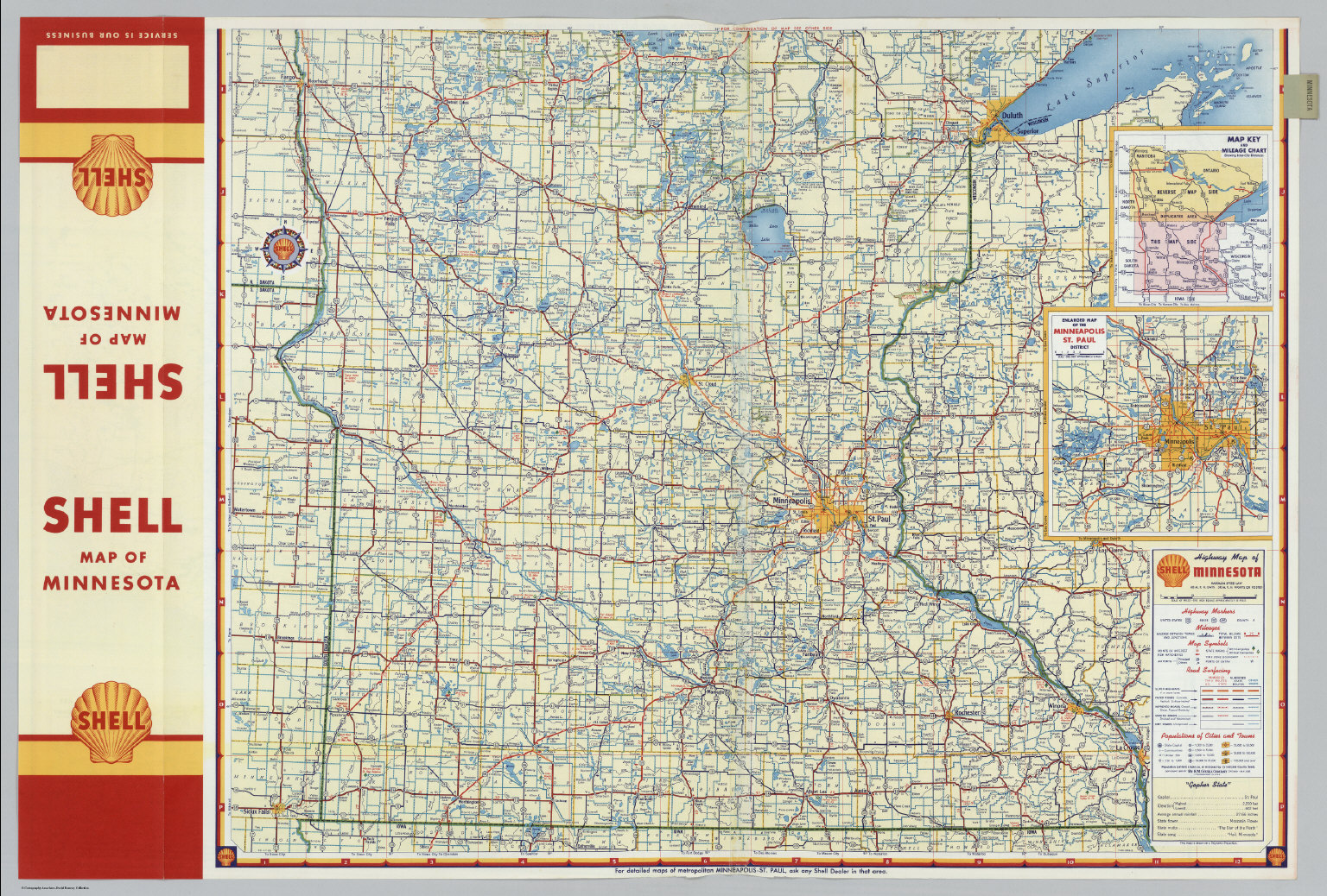 image about Printable Maps of Minnesota referred to as S Street Map of Minnesota (northern component). - David