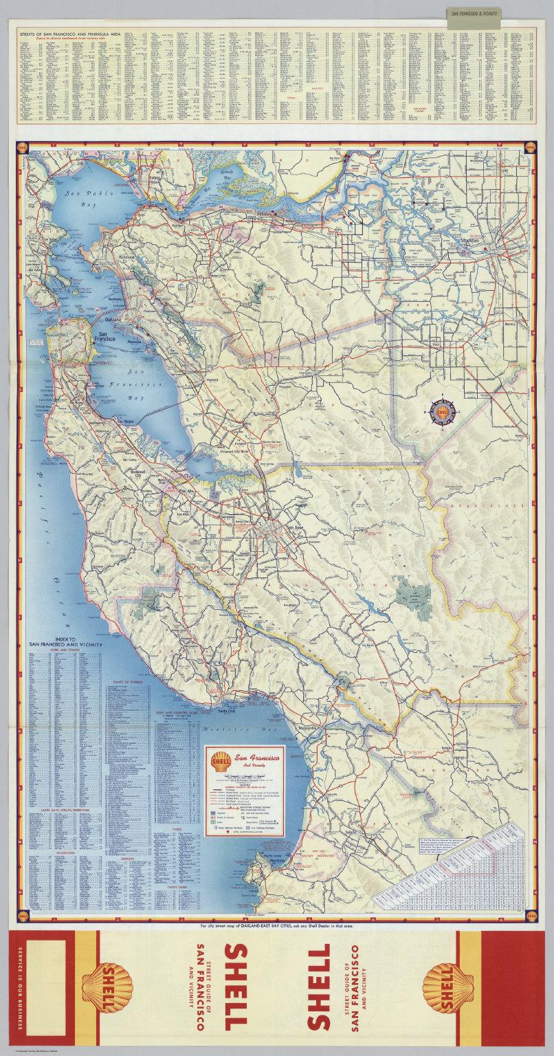 Downtown San Francisco. Street Map of San Francisco. - David Rumsey ...
