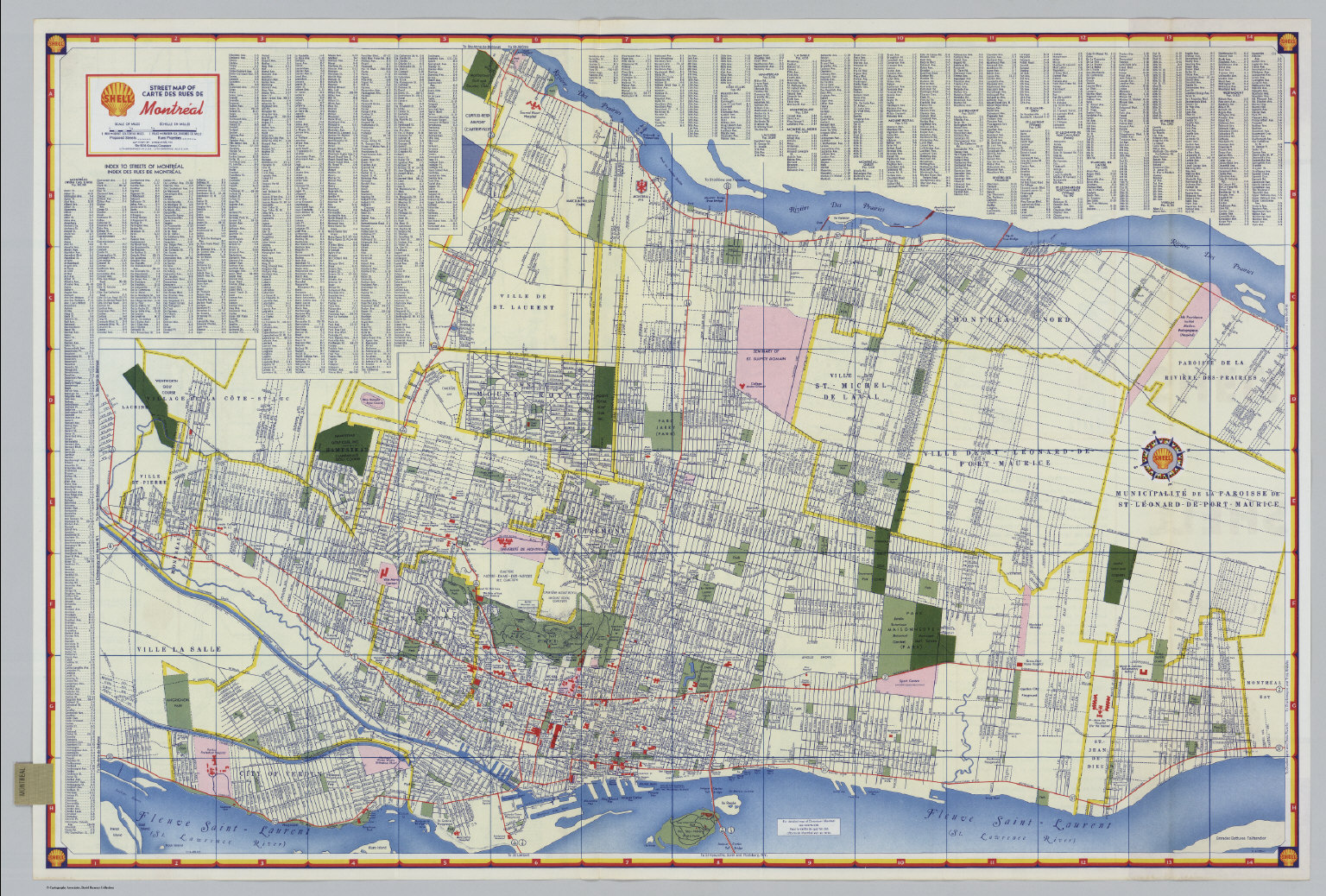graphic regarding Printable Map of Montreal called S Highway Map of Montreal. - David Rumsey Ancient Map
